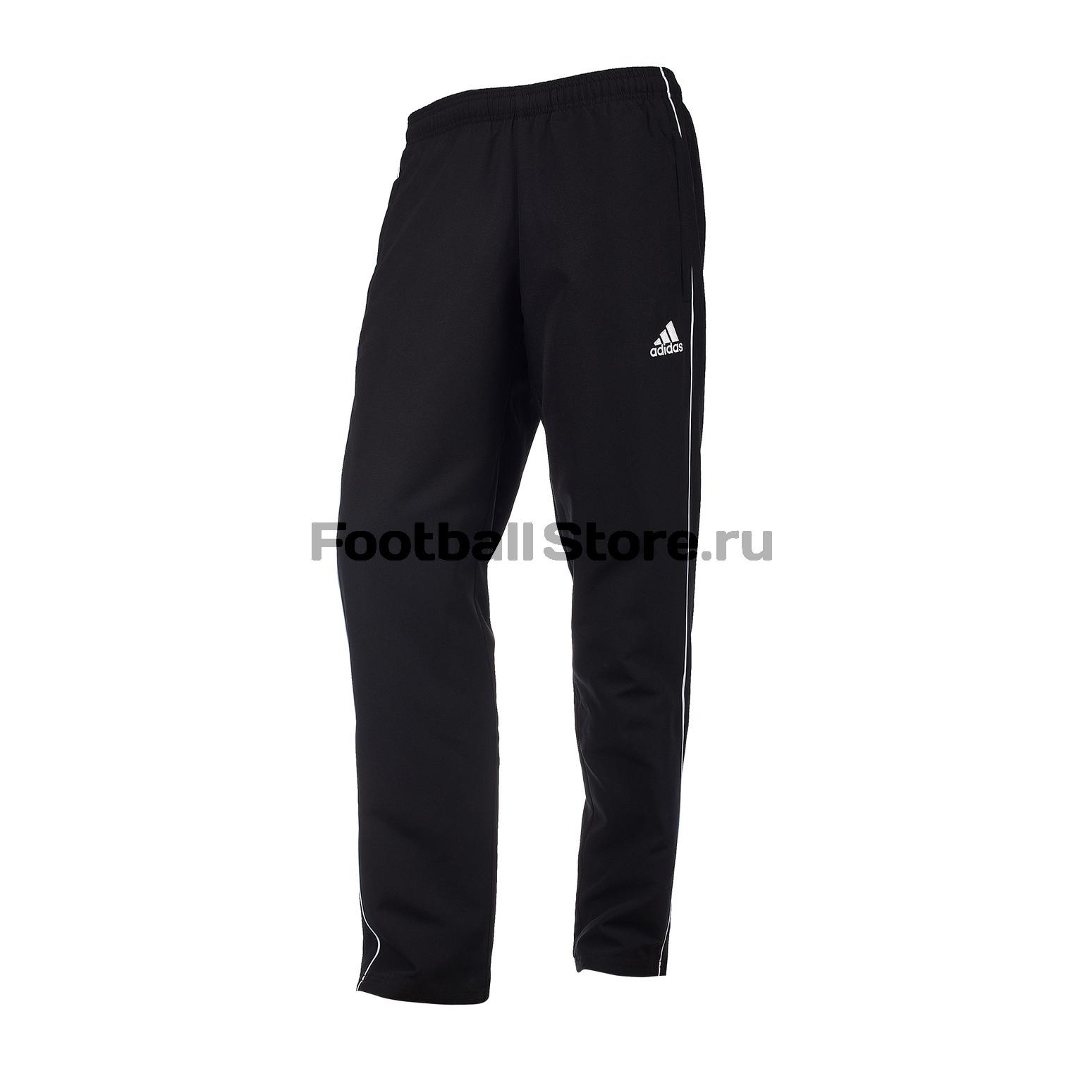 Брюки тренировочные Adidas Core18 Pre Pnt CE9045 брюки adidas брюки тренировочные adidas tiro17 rn pnt ay2896