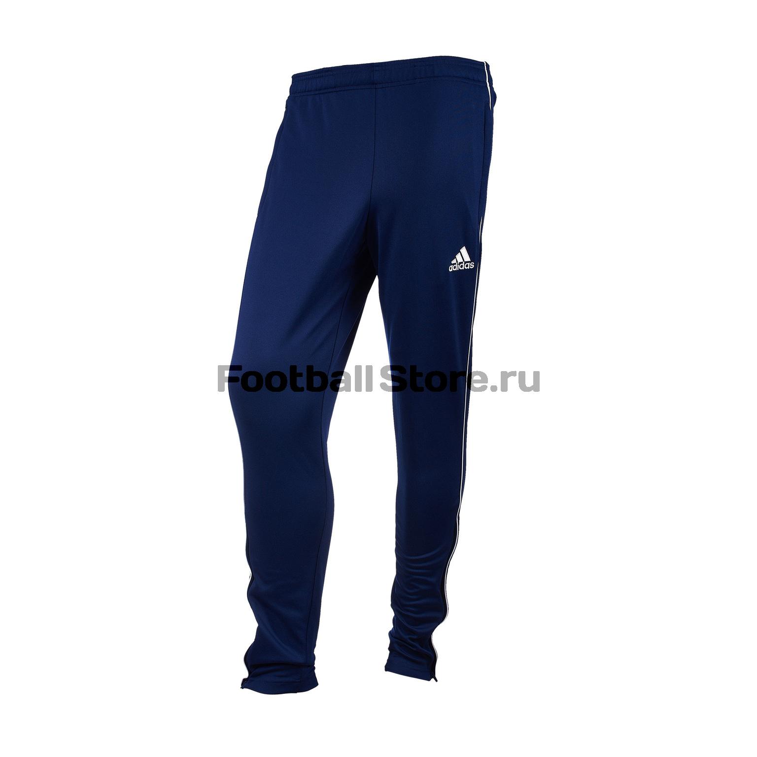 Брюки тренировочные Adidas Core18 TR Pnt CV3988 спортивные штаны мужские adidas regi18 tr pnt цвет черный cz8657 размер xl 56 58