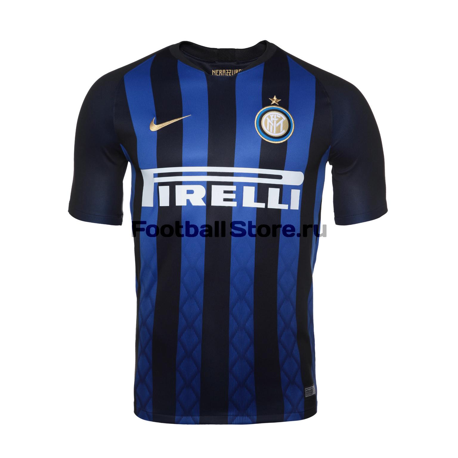 Футболка игровая Nike Inter Stadium SS HM 918999-011