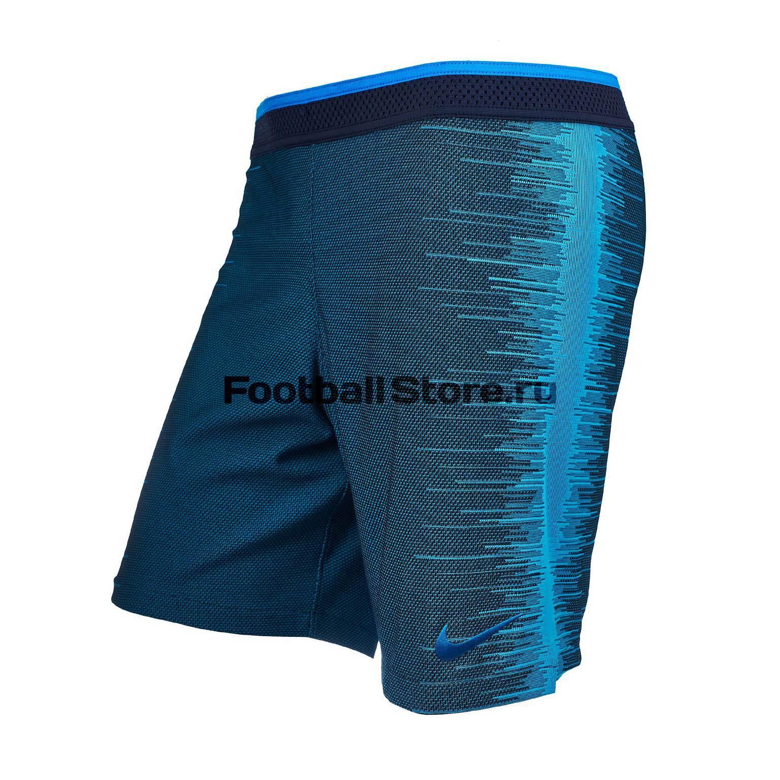 Шорты тренировочные Nike VaporKnit Repel Strike 892889-452 nike брюки тренировочные nike strike pnt wp wz 688393 011