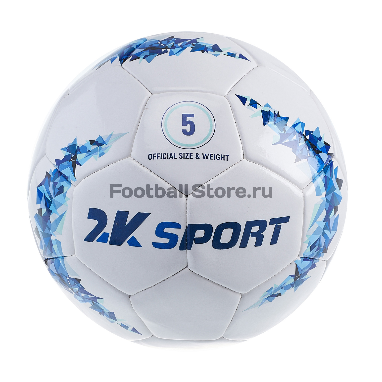 Футбольный мяч 2K Sport Crystal Optimal 127086 мяч футбольный 2k sport advance цвет белый оранжевый размер 5