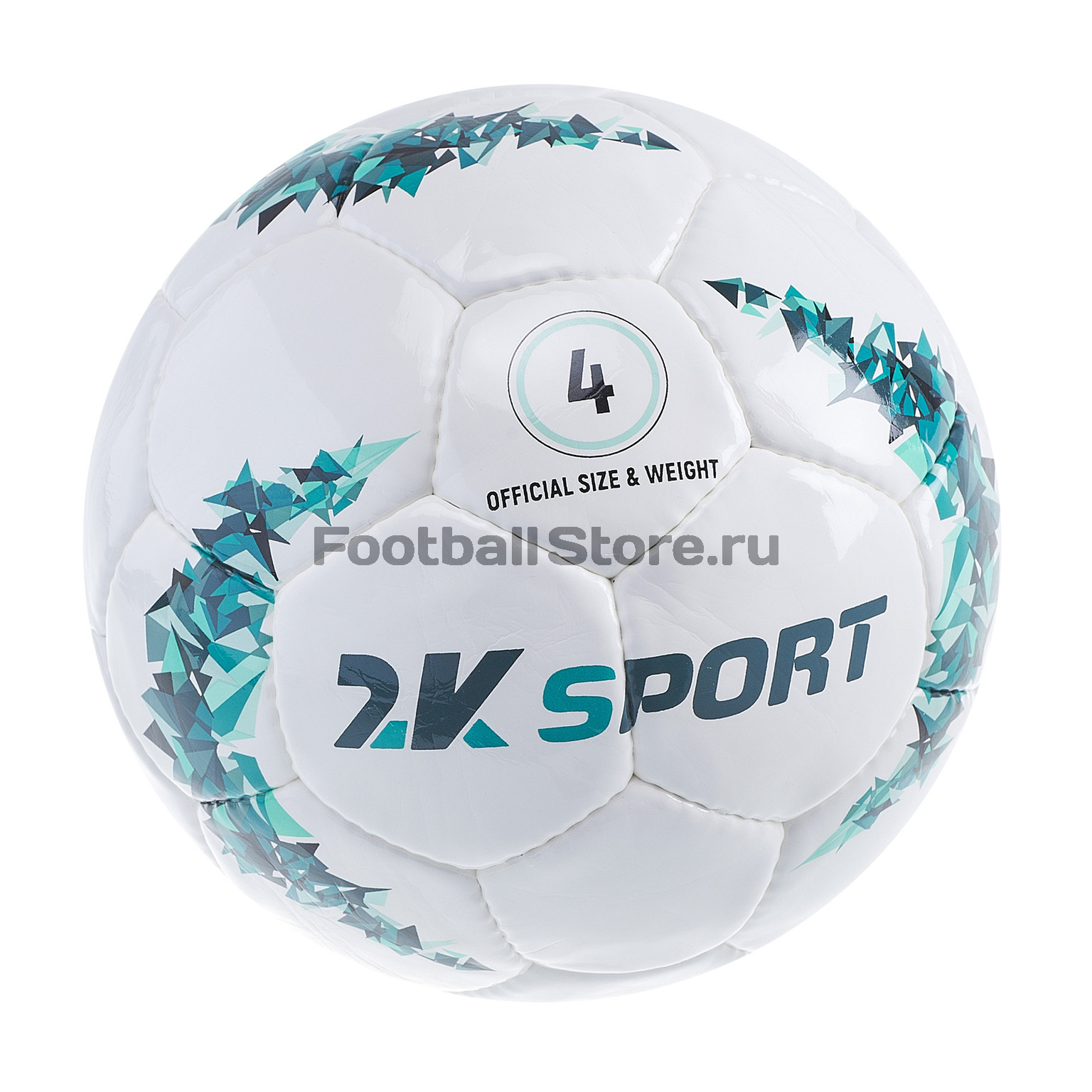 Футбольный мяч 2K Sport Crystal Prime 127087 мяч футбольный 2k sport advance цвет белый оранжевый размер 5