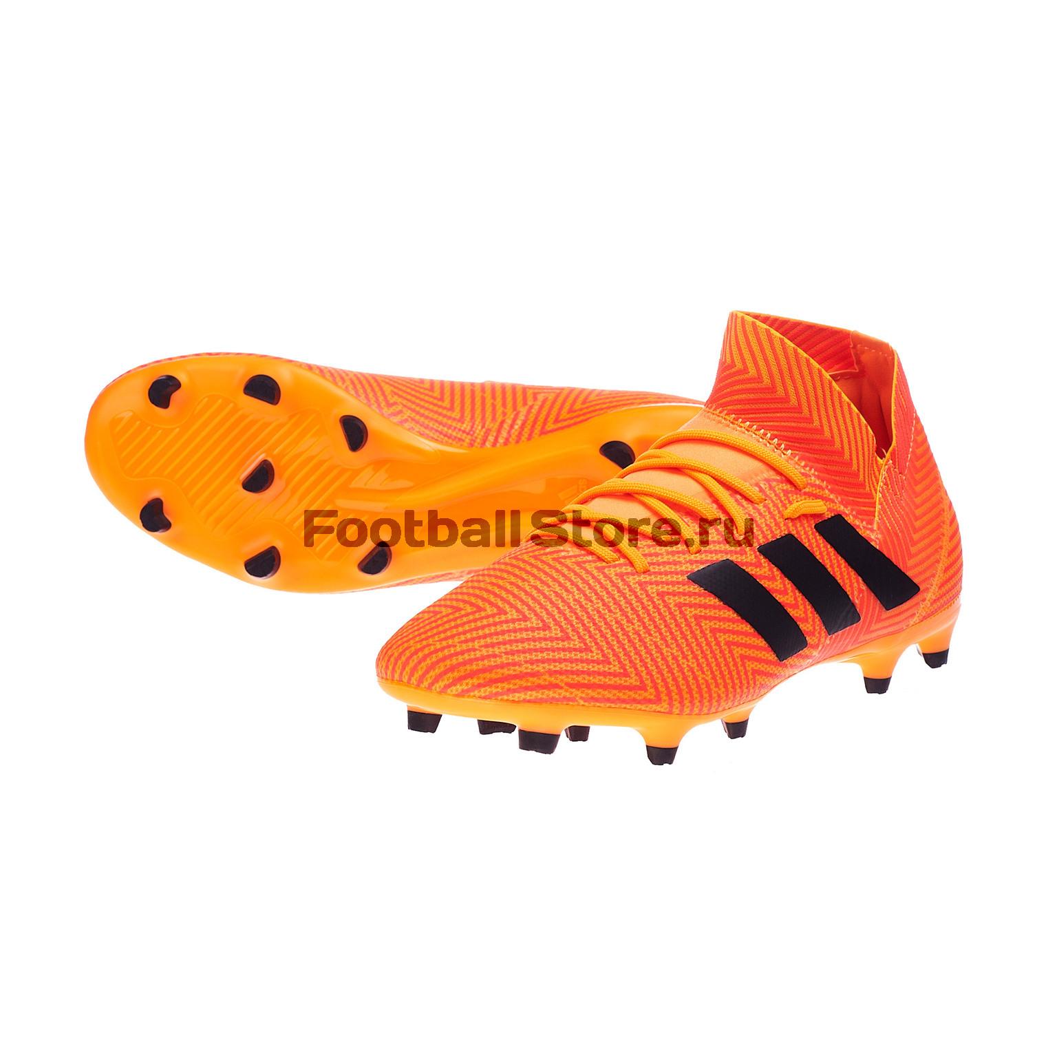 Бутсы Adidas Nemeziz 18.3 FG DA9590 цена