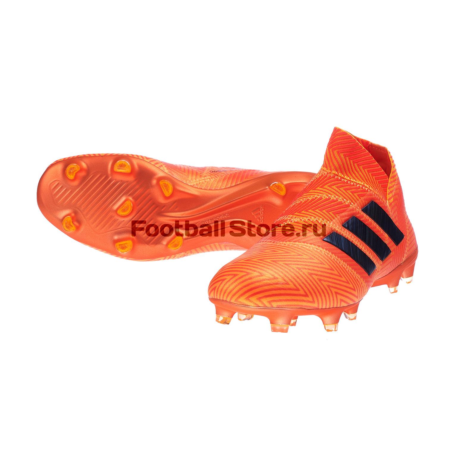 Бутсы Adidas Nemeziz 18+ FG DA9589 бутсы adidas nemeziz 18 3 fg da9590