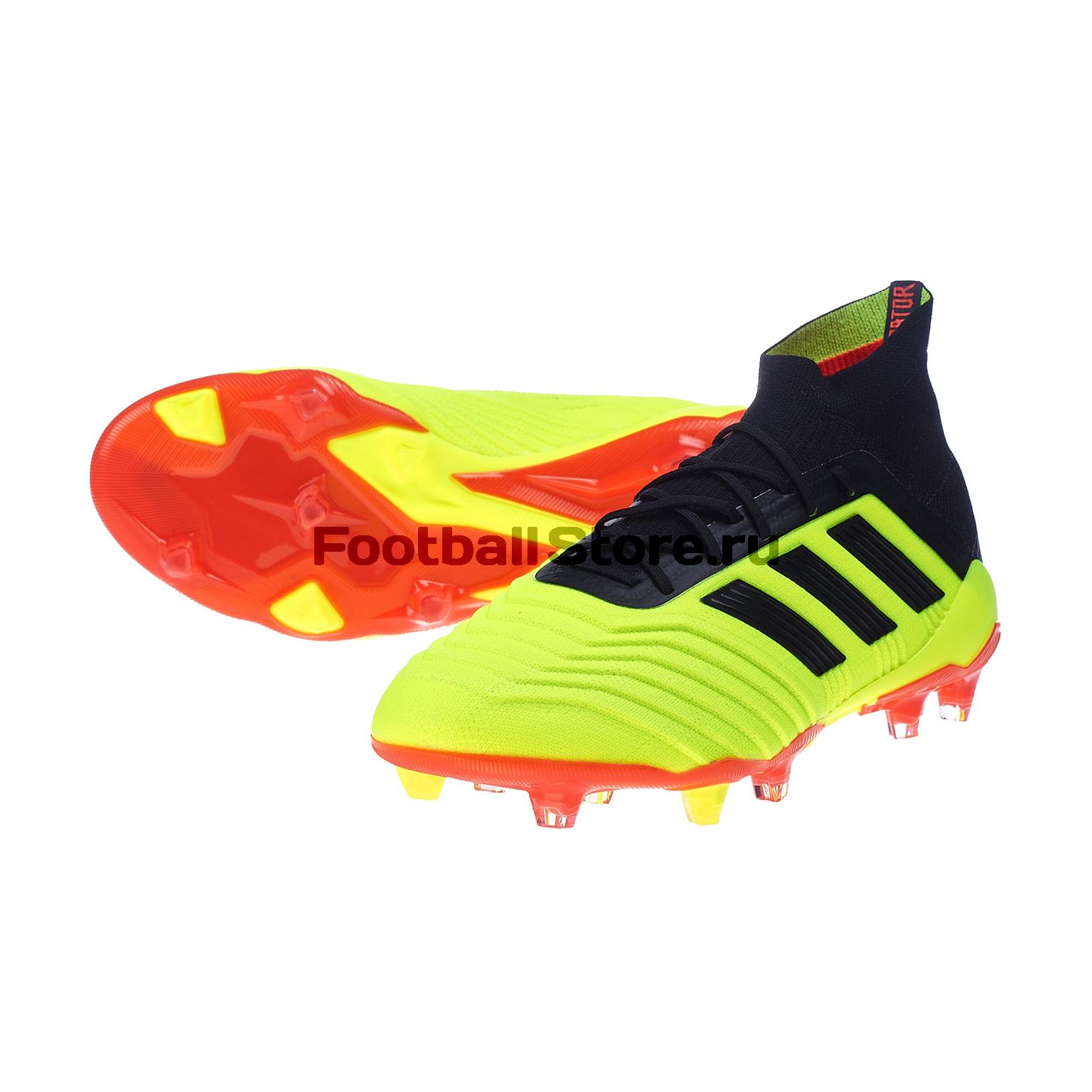 Бутсы Adidas Predator 18.1 FG DB2037