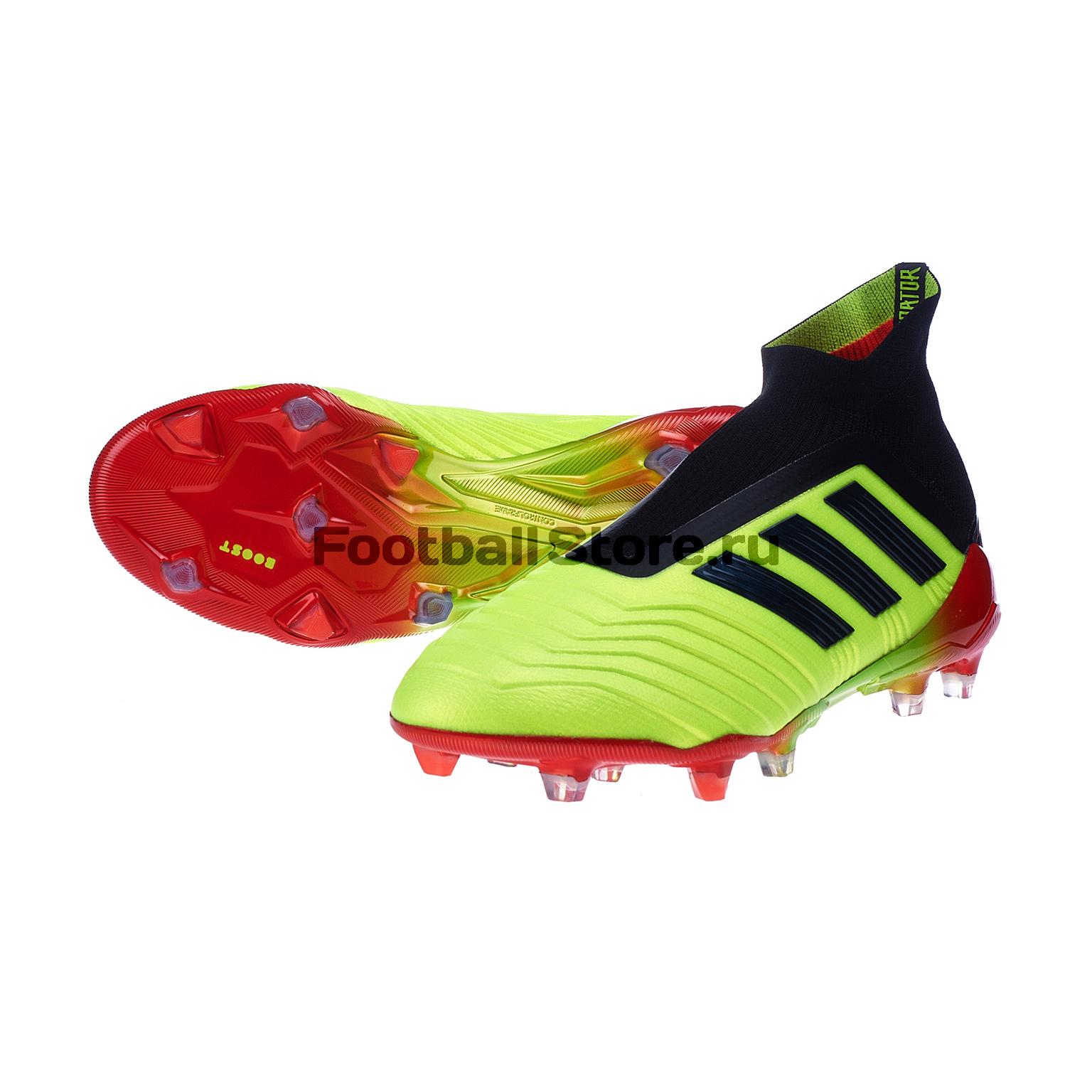 Бутсы Adidas Predator 18+ FG DB2010 цена