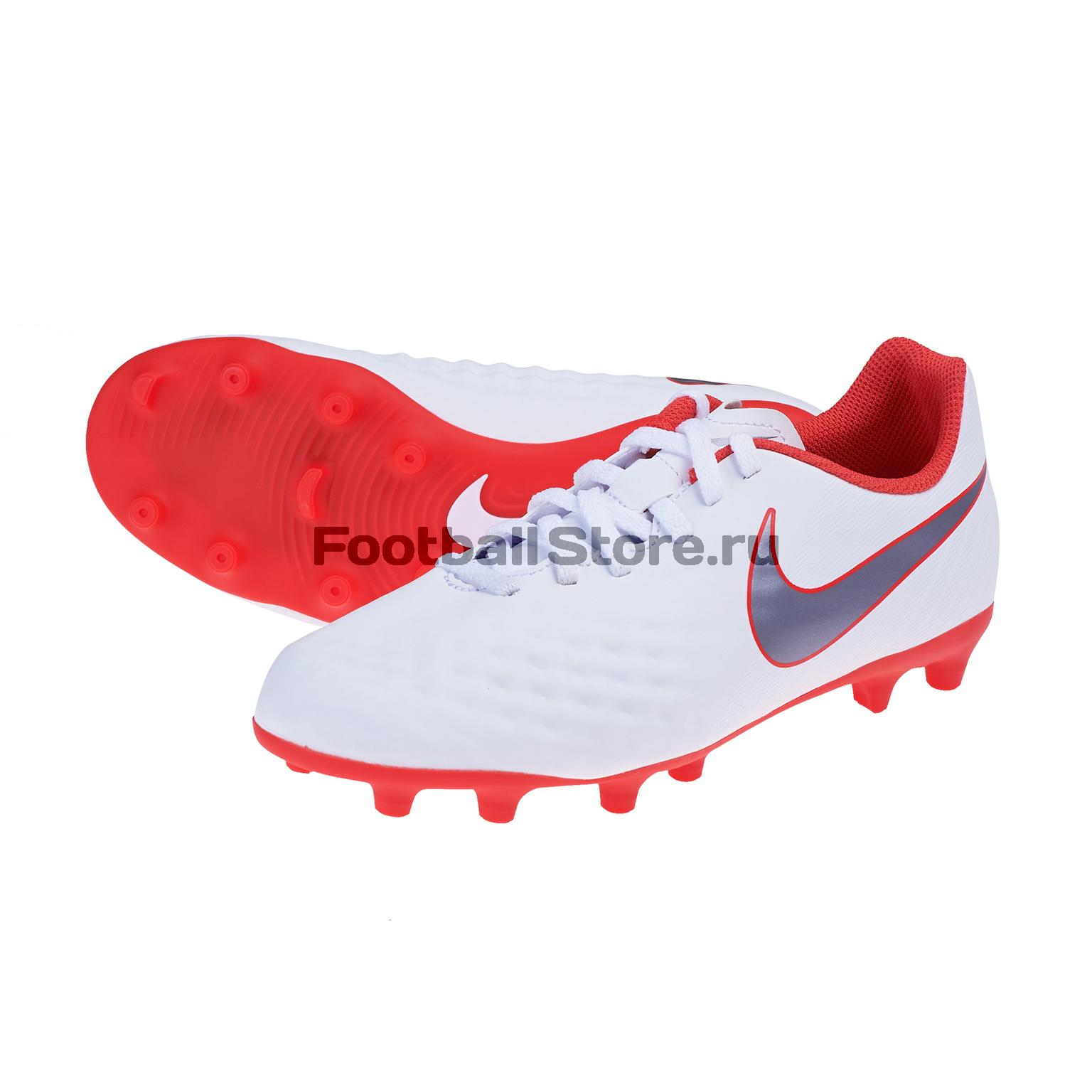 Бутсы детские Nike Obra 2 Club FG AH7314-107 бутсы nike jr obra 2 club fg ah7314 107
