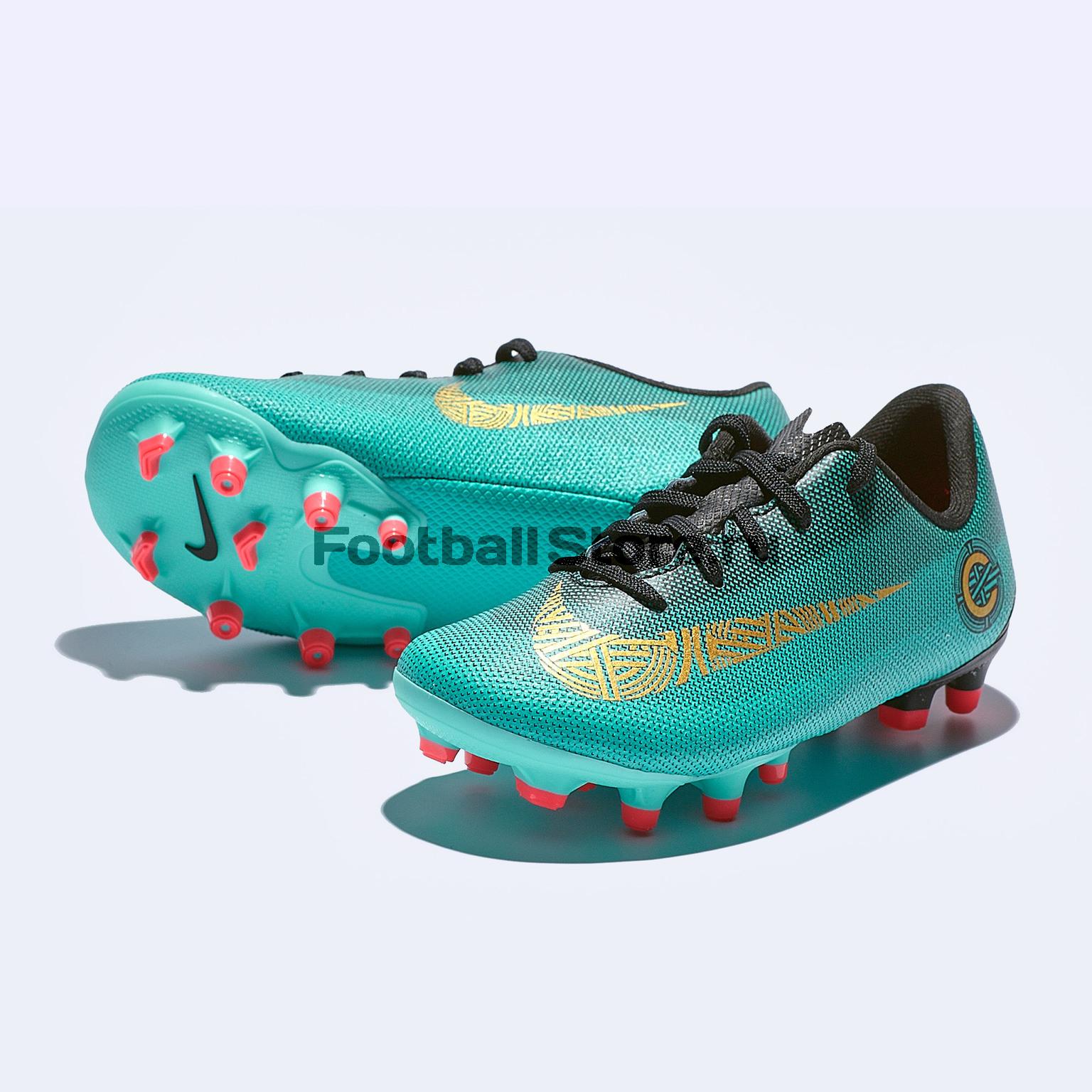 Бутсы детские Nike Vapor 12 Academy PS FG/MG AJ3090-390 бутсы детские nike vapor 12 academy gs fg mg ah7347 070