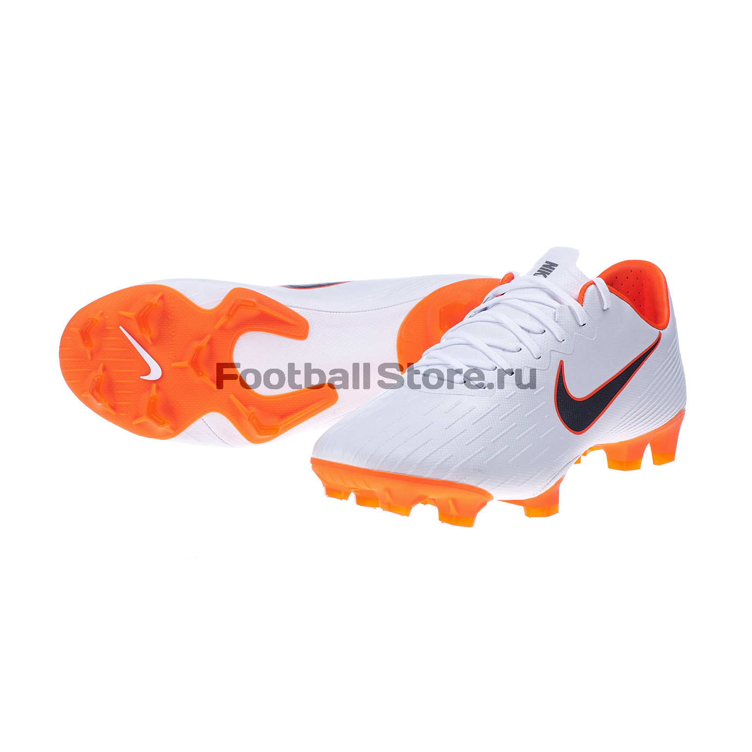 Бутсы Nike Vapor 12 FG Pro FG AH7382-107 nike vapor pro low d men s detachable football cleats