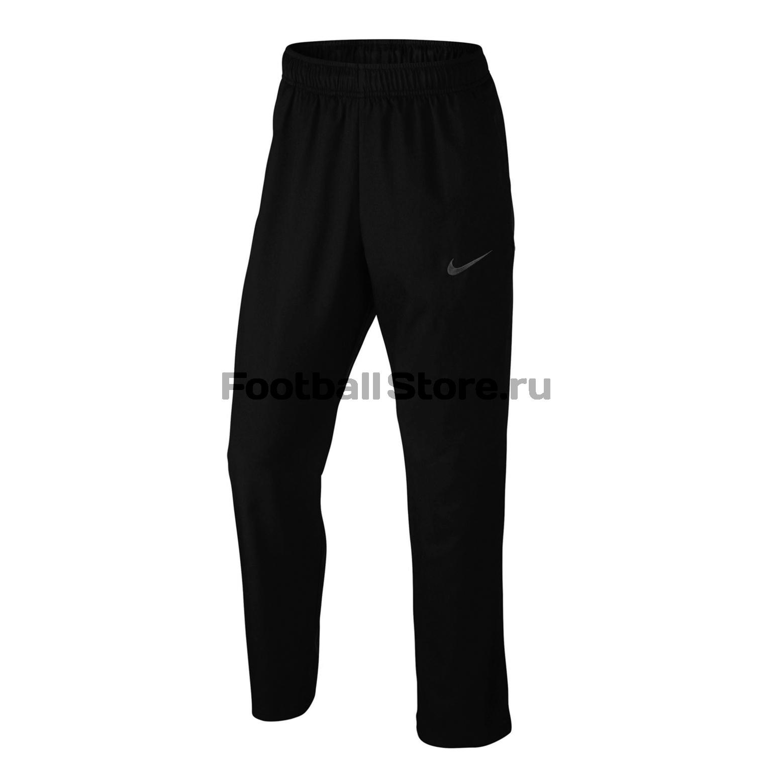Брюки тренировочные Nike Dry Pant Team Woven 800201-010 куртка nike dry team woven 800199 021