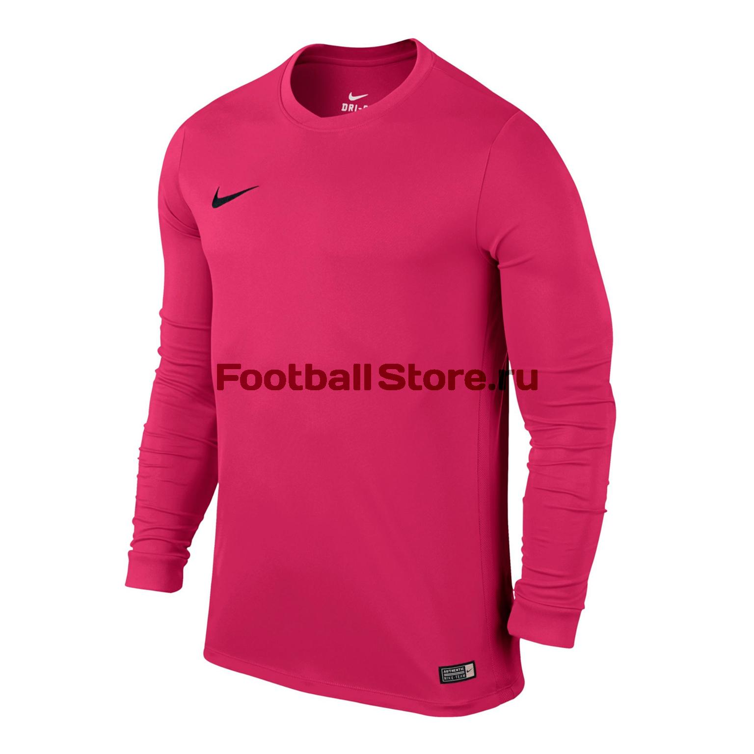 Футболка игровая Nike LS Park VI JSY 725884-616 футболка игровая nike dry tiempo prem jsy ss 894230 057