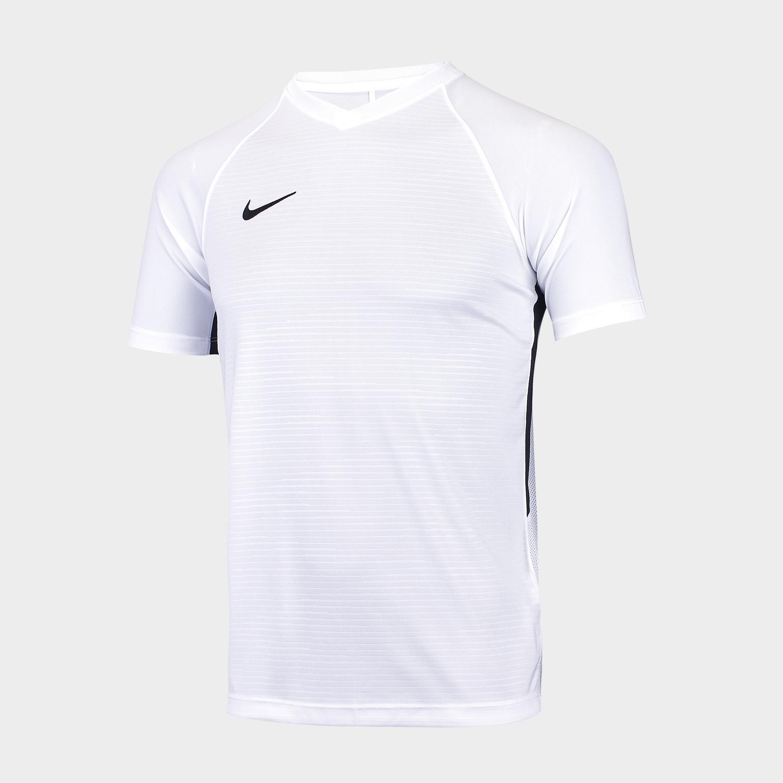 Футболка детская Nike Dry Tiempo Premier 894111-100 футболка игровая nike dry tiempo prem jsy ss 894230 411