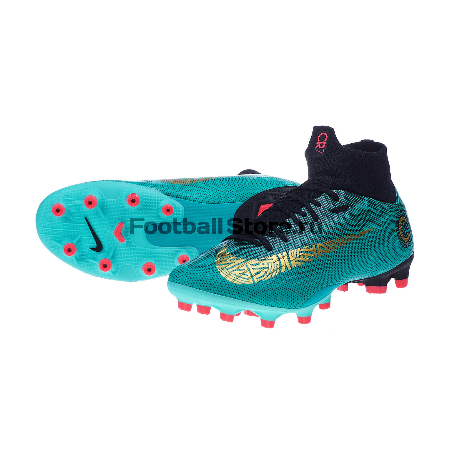 Бутсы Nike SuperFly 6 Pro CR7 AG-Pro AJ3551-390 бутсы nike mercurial victory cr7 indoor