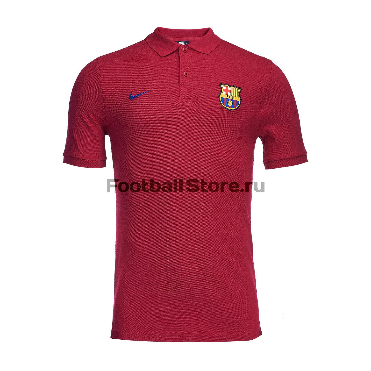 Поло Nike Barcelona 892515-620 barcelona nike сумка nike barcelona nk shld duff ba5042 410