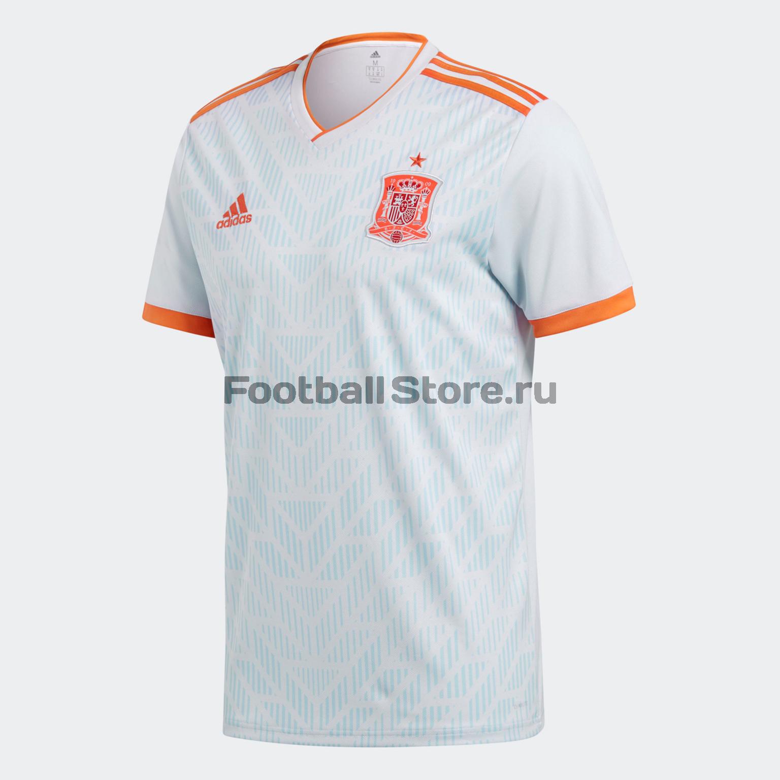 Гостевая футболка Adidas сборной Испании BR2697