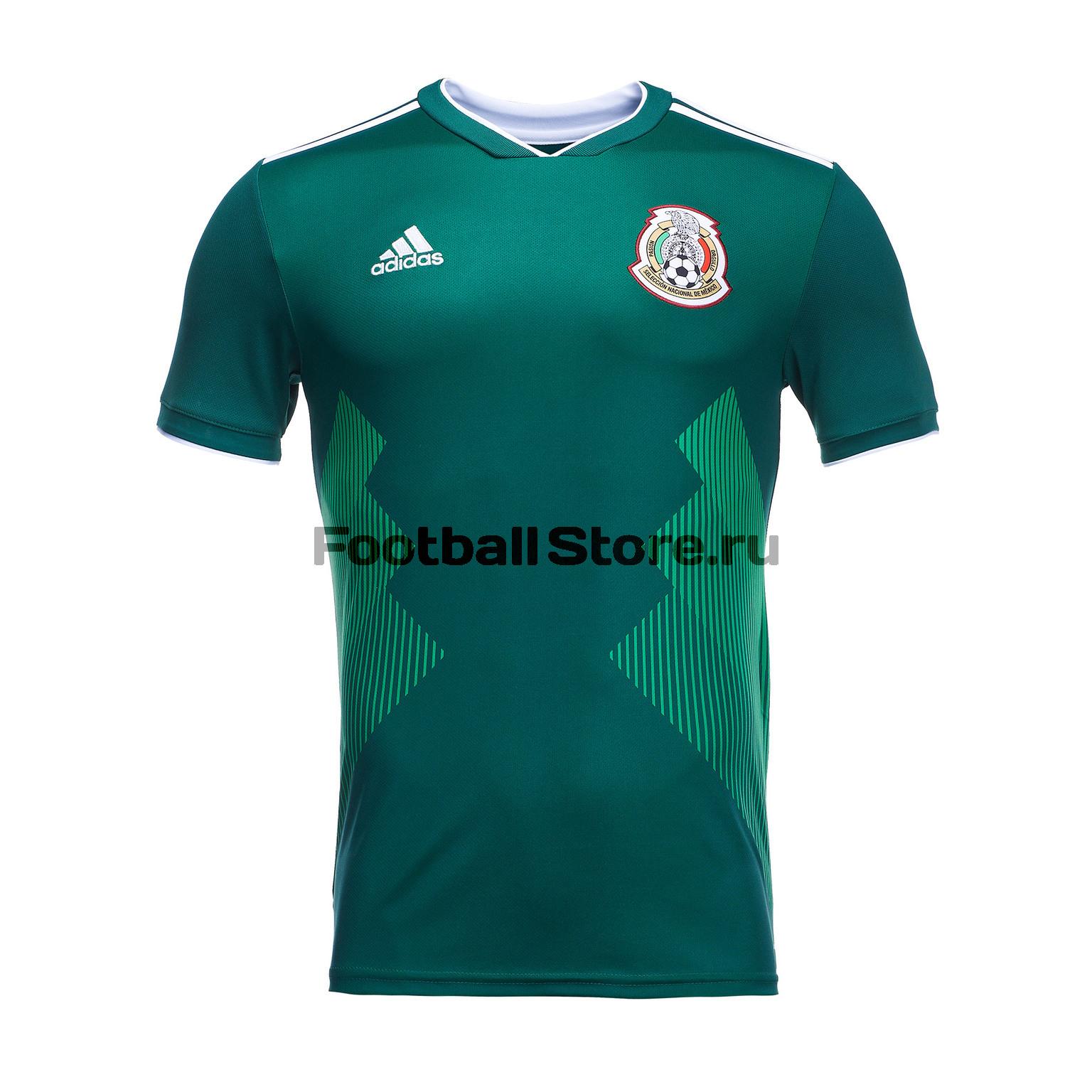 Домашняя игровая футболка Adidas сборной Мексики BQ4701