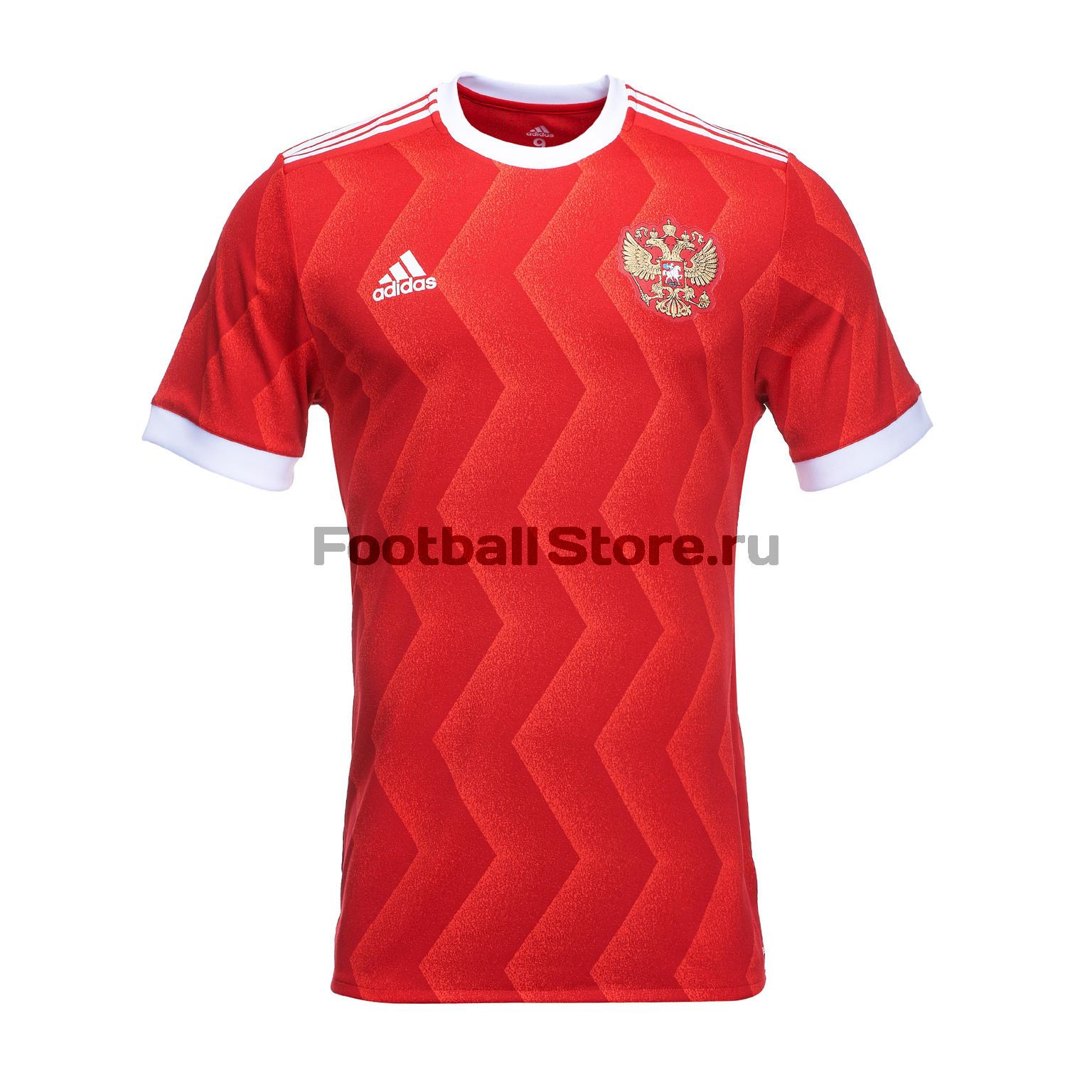 Оригинальная игровая футболка Adidas сборной России BR6579