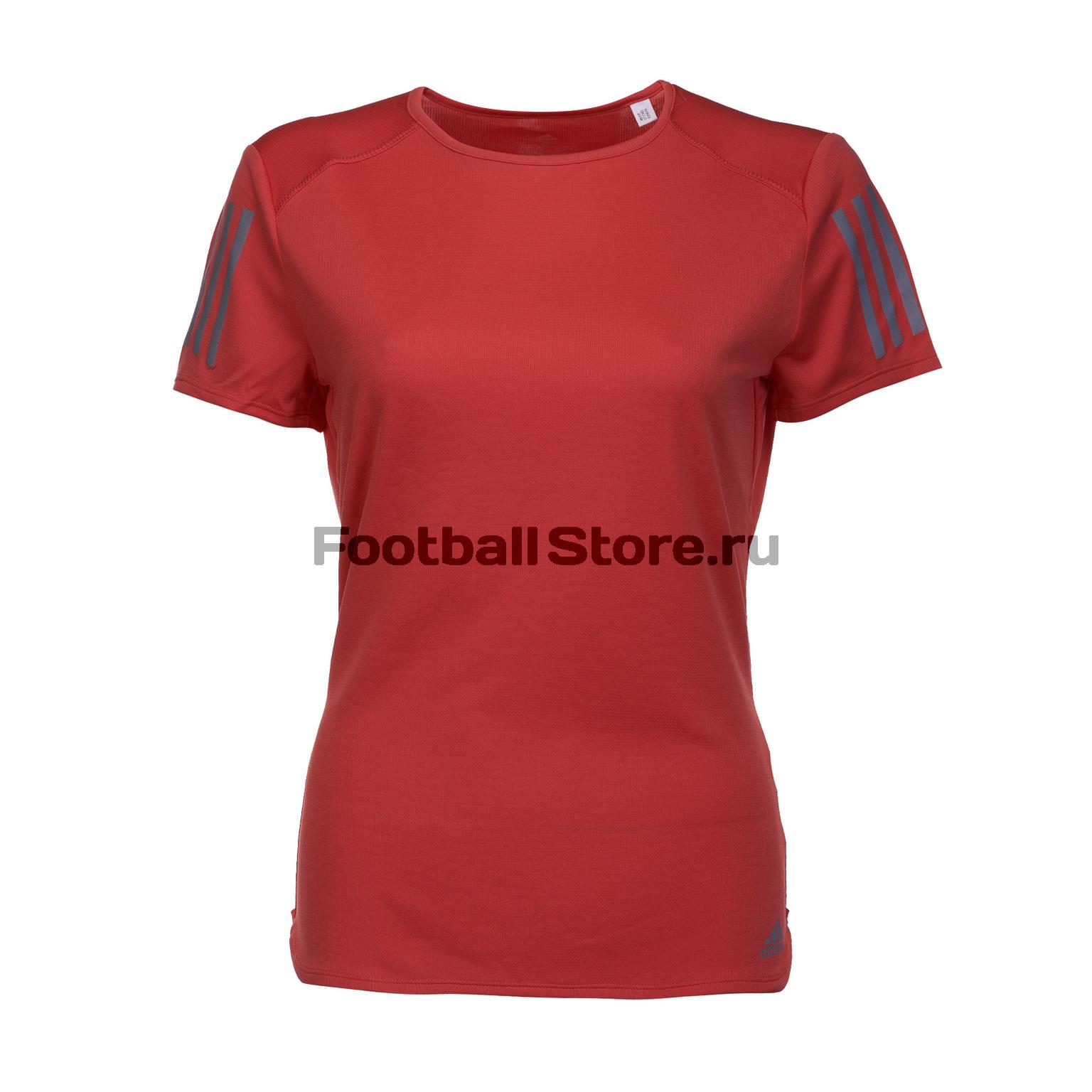 Футболка женская Adidas Russia SS Tee CF2140 футболка женская adidas trefoil tee цвет желтый cv9893 размер 42 48