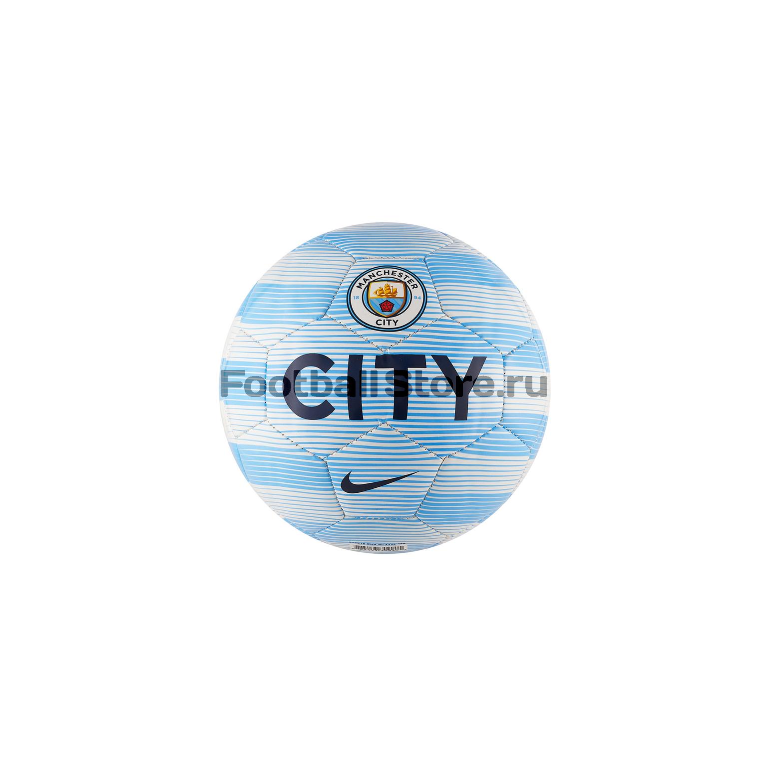 Мяч сувенирный Nike Manchester City SLKS SC3334-488 футболка nike manchester city 898623 488