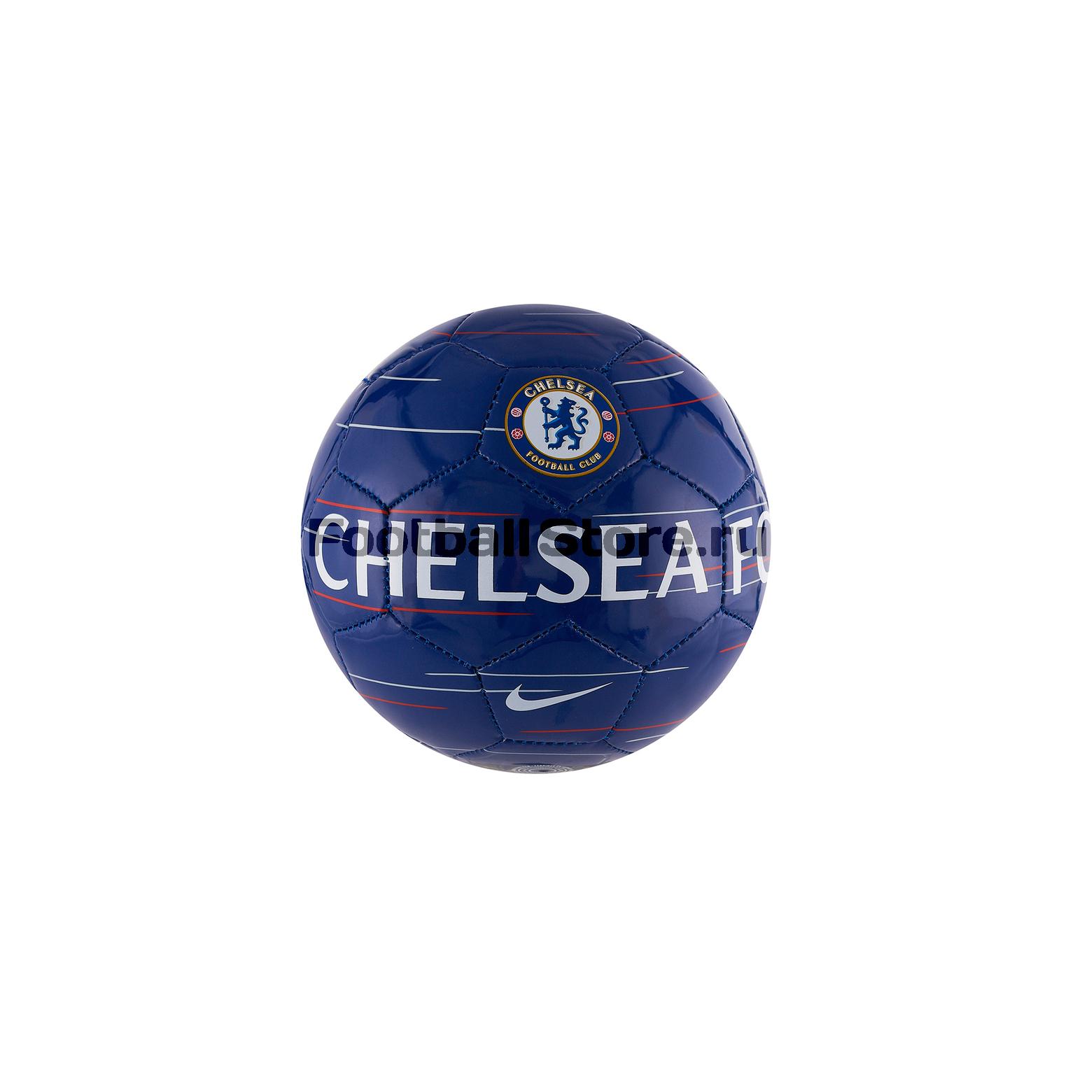 Футбольный мяч сувенирный Nike Chelsea SC3336-495 chelsea nike перчатки тренировочные nike chelsea gs0353 060