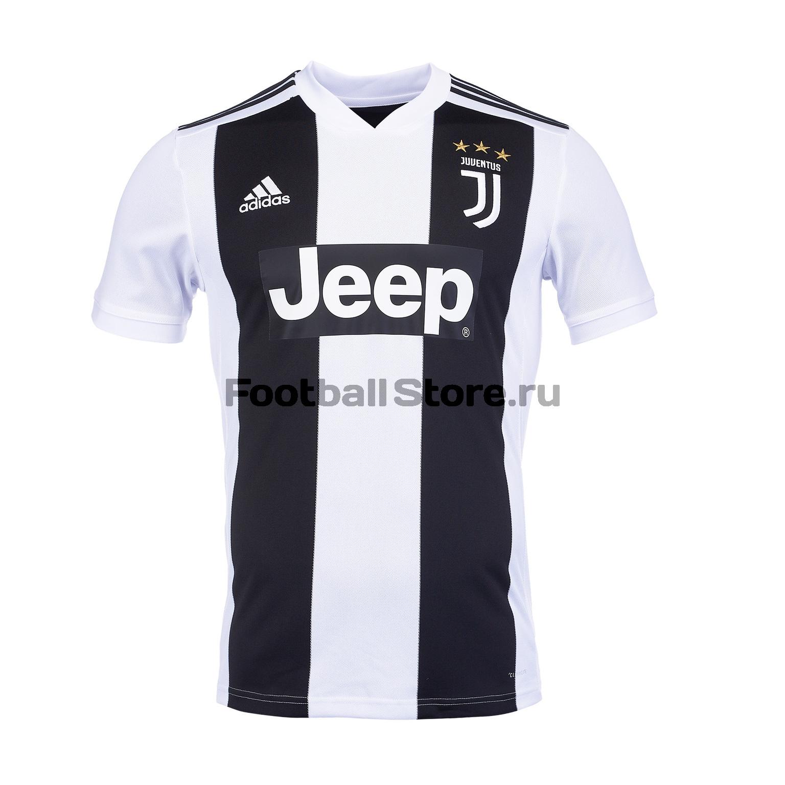 Футболка домашняя игровая Adidas Juventus 2018/19 рюкзак adidas juventus 2018 19