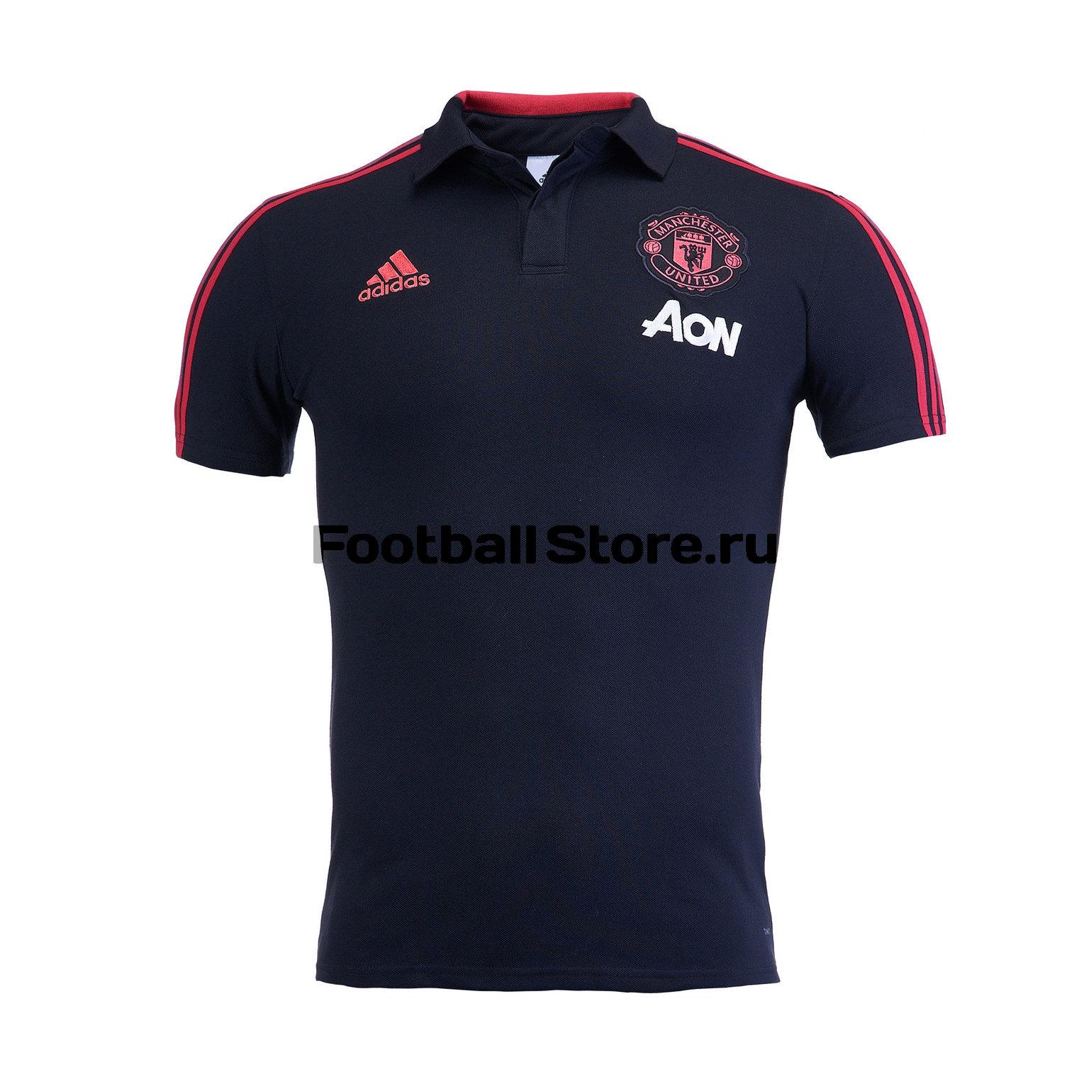 Рубашка-поло Adidas Manchester United 2018/19 рюкзак adidas manchester united cy5581
