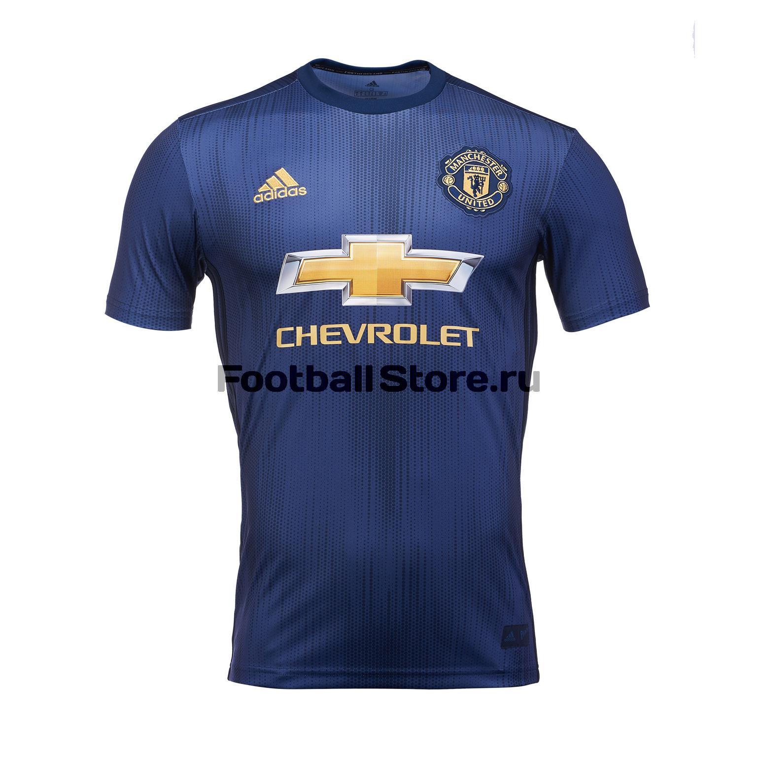 Футболка резервная игровая Adidas Manchester United 2018/19 сумка adidas manchester united 2018 19
