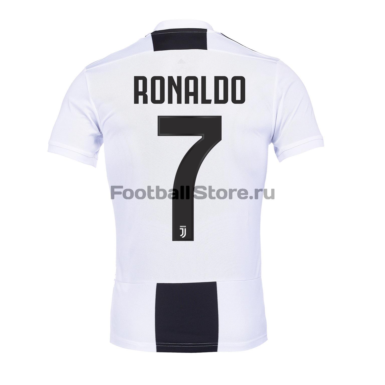 Футболка домашняя Adidas Juventus (Ювентус) Роналду рюкзак adidas juventus 2018 19