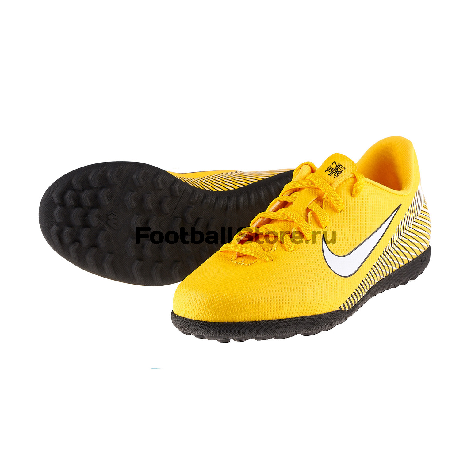 Шиповки детские Nike Vapor 12 Club Neymar TF AO9478-710 бутсы nike шиповки nike jr tiempox legend vi tf 819191 018