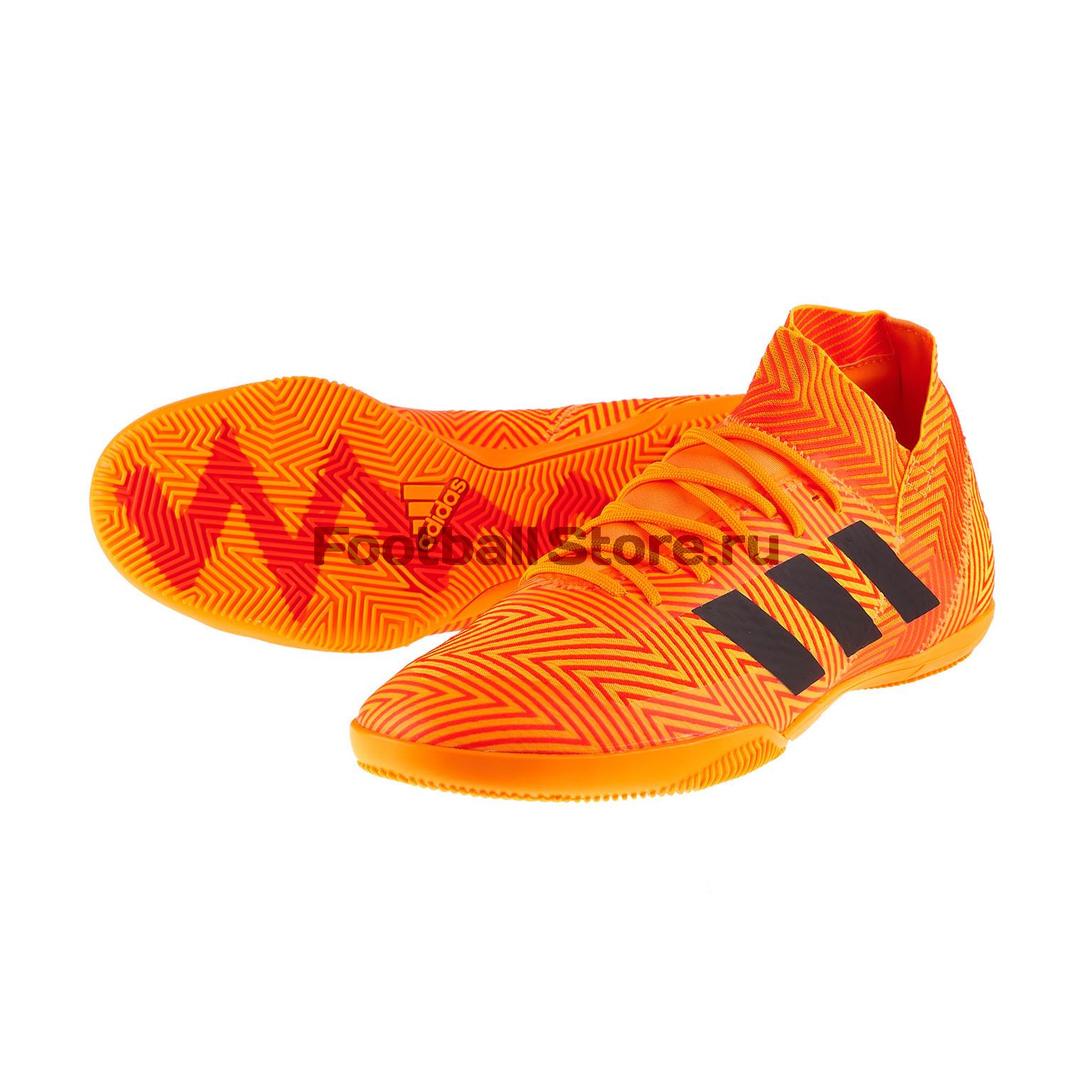 Обувь для зала Adidas Nemeziz Tango 18.3 IN DA9621 обувь для зала adidas ace tango 18 3 in jr cp9075