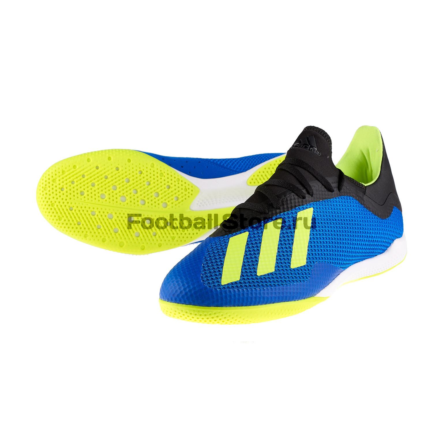 все цены на Футзалки Adidas X Tango 18.3 IN DB1954 онлайн