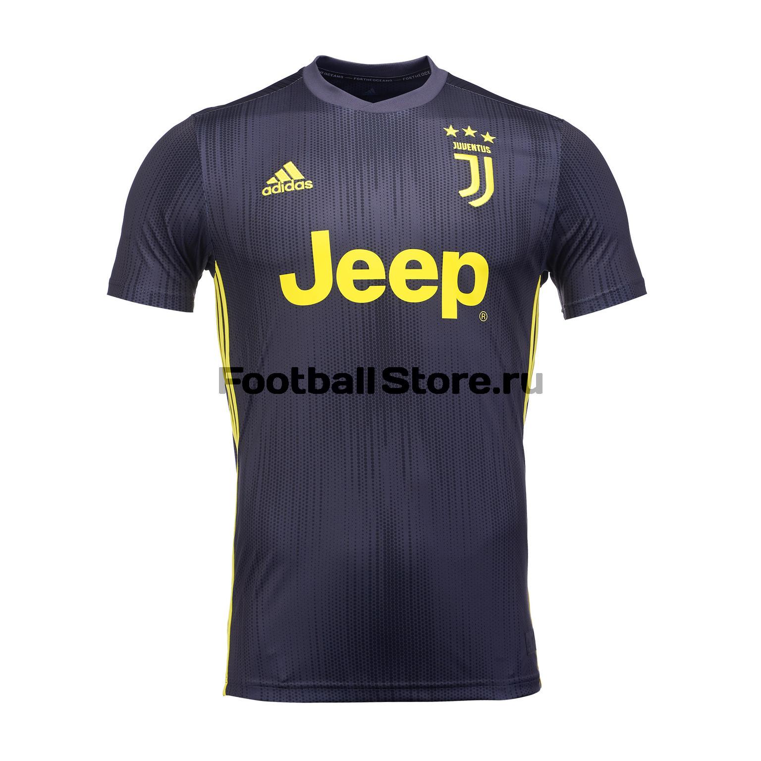 Футболка резервная игровая Adidas Juventus 2018/19 рюкзак adidas juventus 2018 19