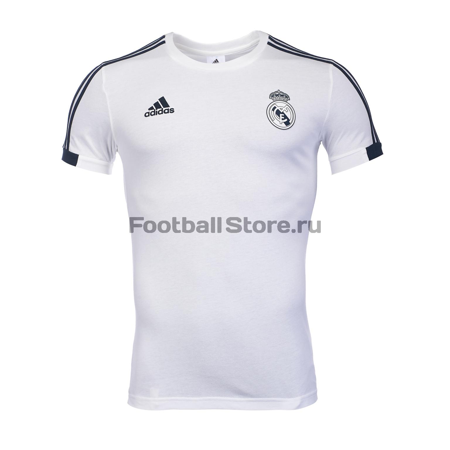 Футболка хлопковая Adidas Real Madrid 2018/19 недорго, оригинальная цена