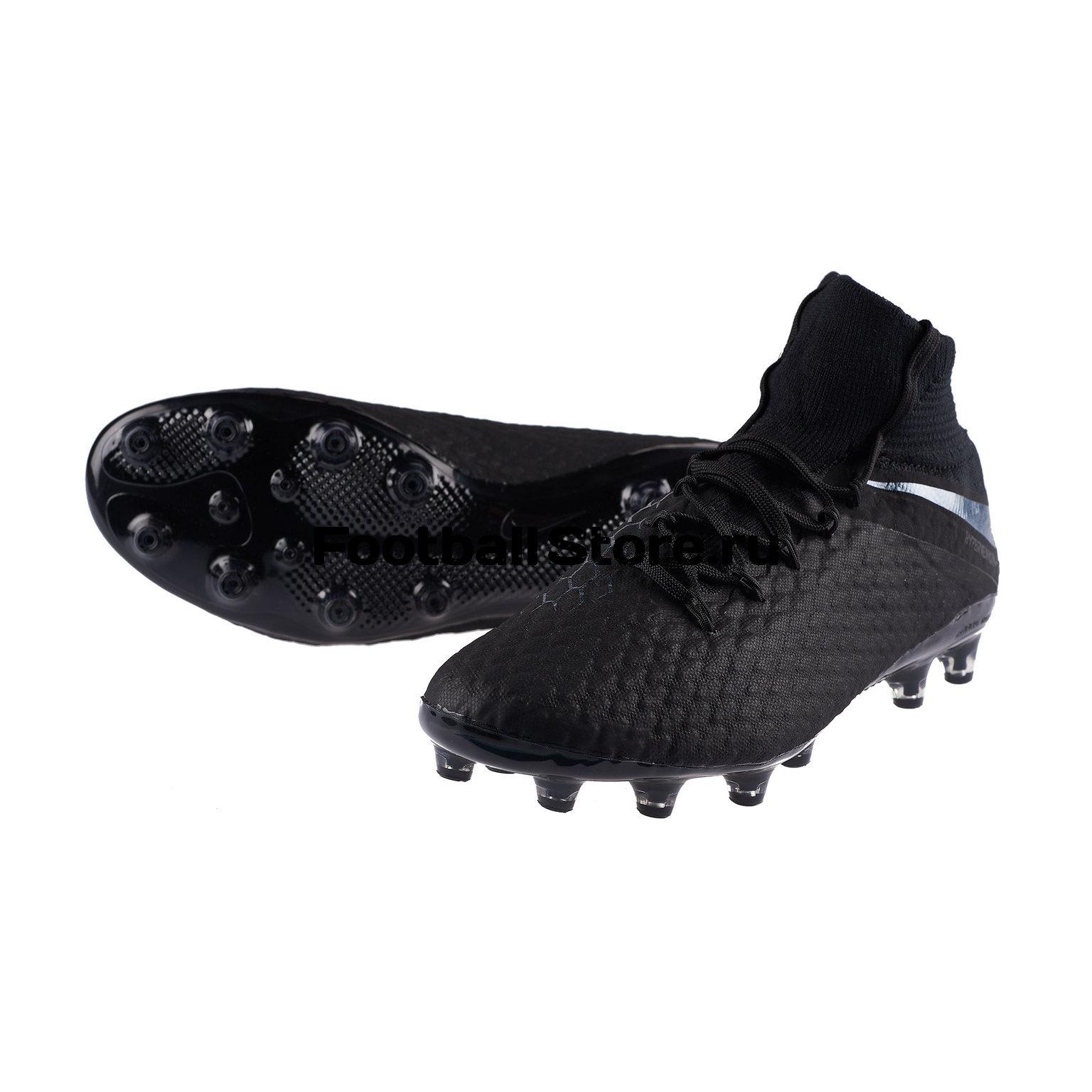 Бутсы Nike Hypervenom 3 Pro DF AG-Pro AO4541-001 бутсы nike 10 mercurial victory ag 651617 800