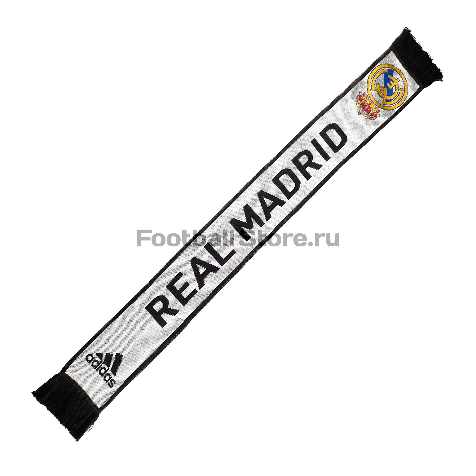 Шарф болельщика Adidas Real Madrid CY5602 рюкзак adidas real madrid id br7132