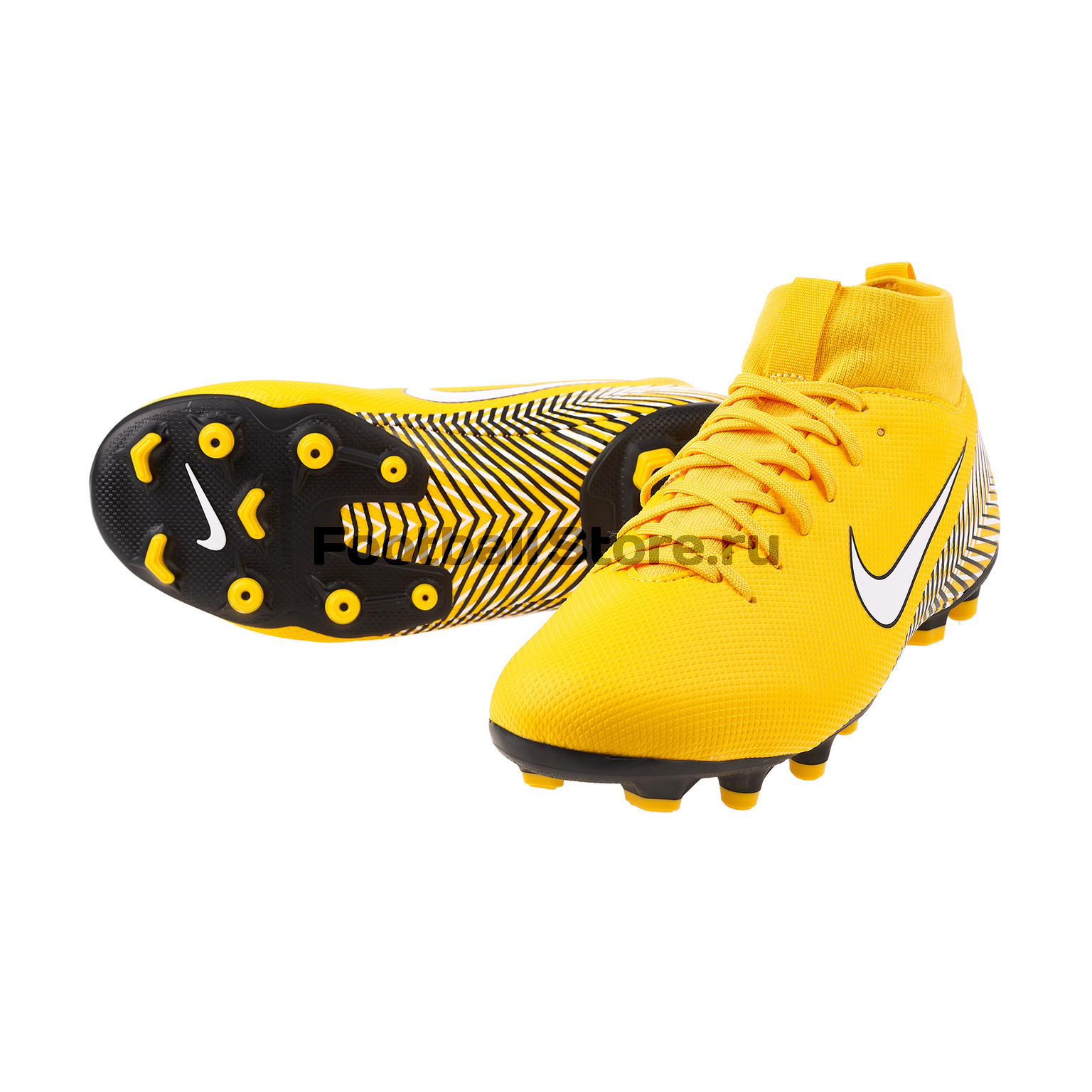 Бутсы детские Nike Superfly 6 Academy Neymar FG/MG AO2895-710 бутсы детские nike superfly academy gs cr7 fg mg aj3111 600