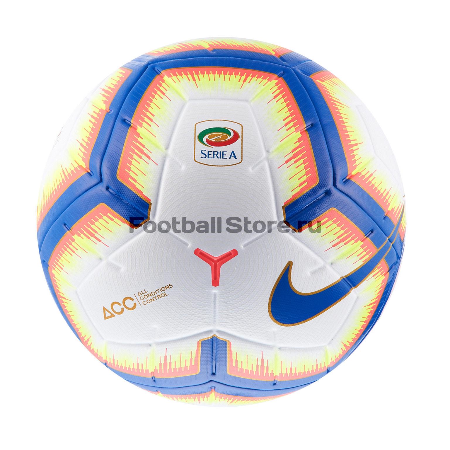 Футбольный мяч Nike Serie A (Италия) Merlin SC3373-100 цена