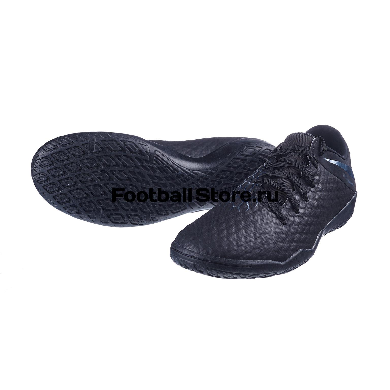 Обувь для зала Nike Hypervenom 3 Academy IC AJ3814-001 обувь для зала nike phantom vision club df ic ao3271 001