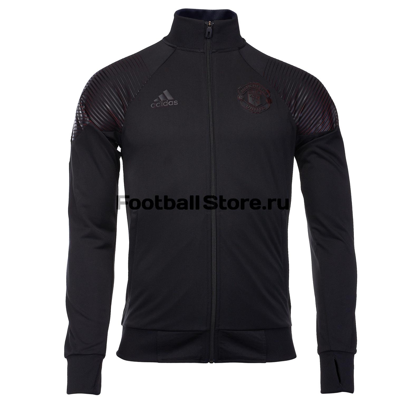 Олимпийка Adidas Manchester United 2018/19 цена
