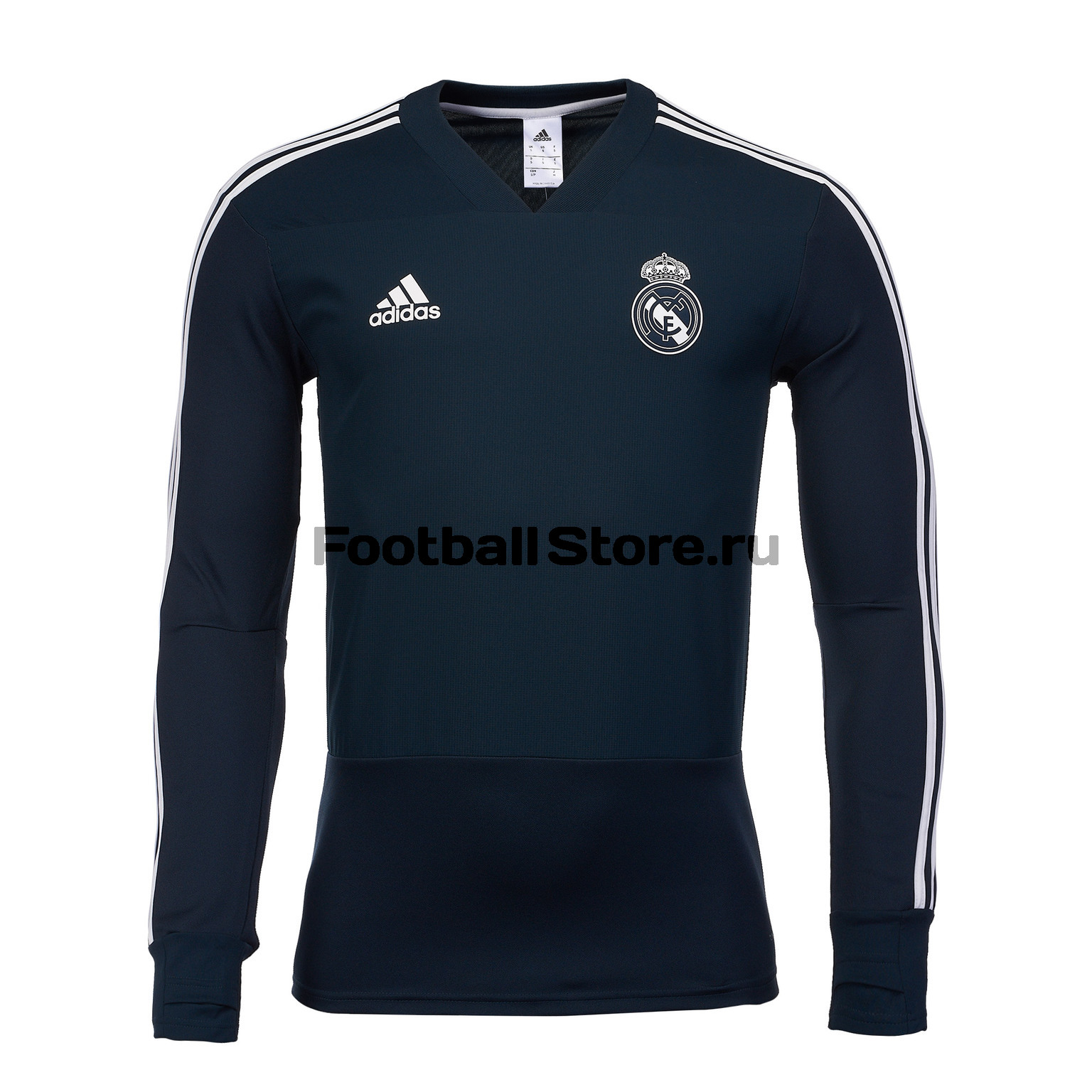 Свитер тренировочный Adidas Real Madrid 2018/19 adidas adidas fc real madrid 2008 09 home