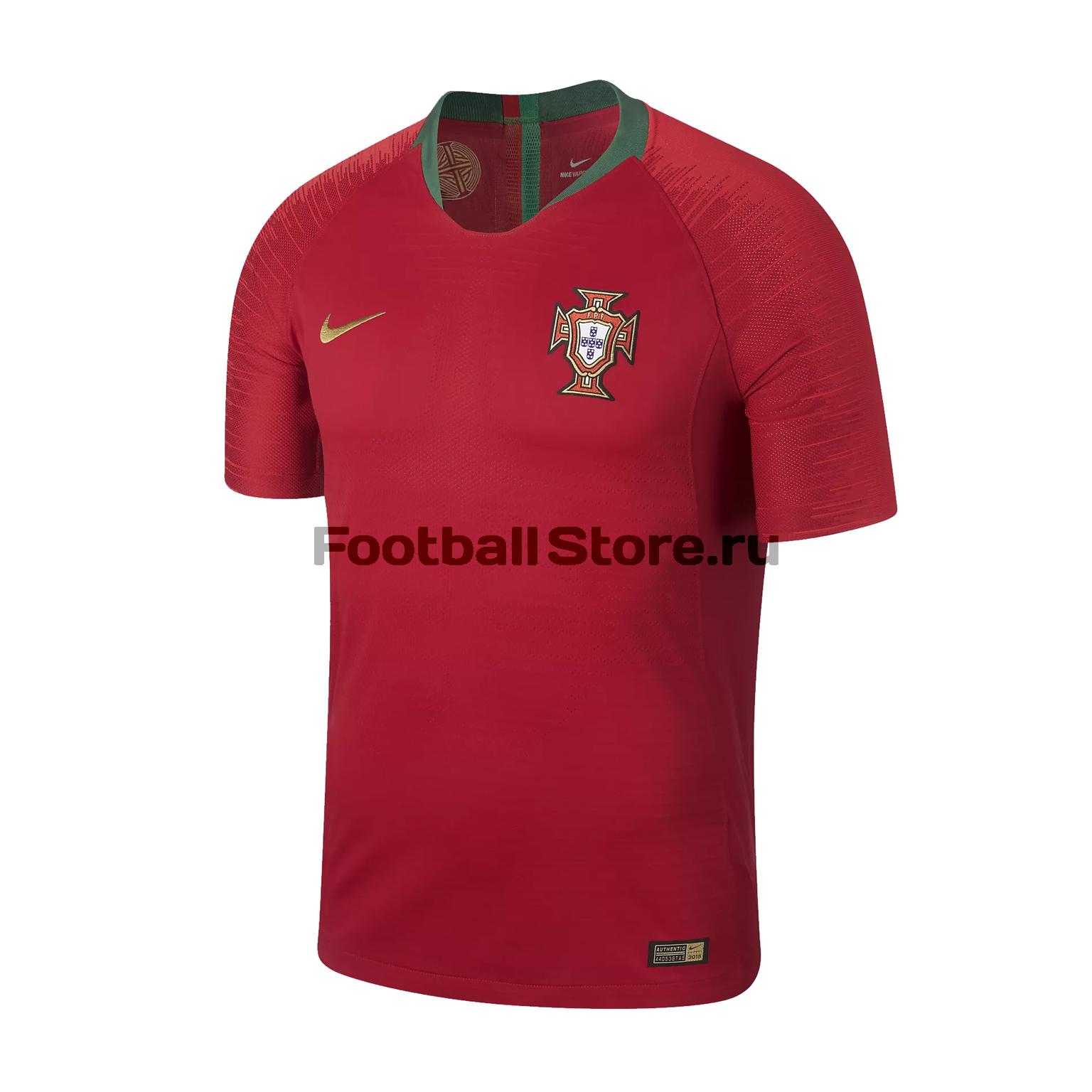 Оригинальная игровая футболка Nike сборной Португалии 2018/19 оригинальная домашняя футболка nike дзюба 22 2018 19 nike
