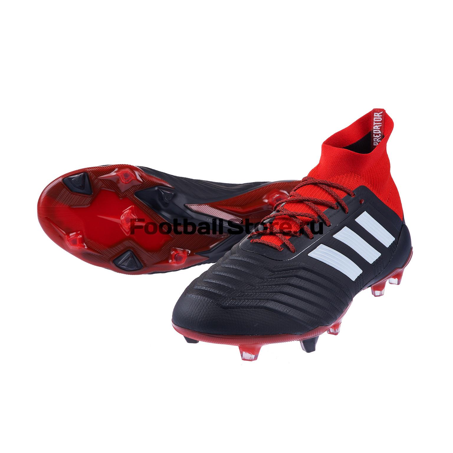 Бутсы Adidas Predator 18.1 FG DB2039 цена
