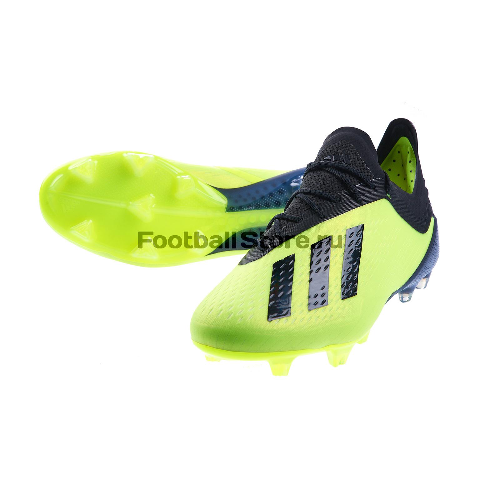 Бутсы Adidas X 18.1 FG DB2251 бутсы adidas футбольные бутсы шиповки x 16 1 cage