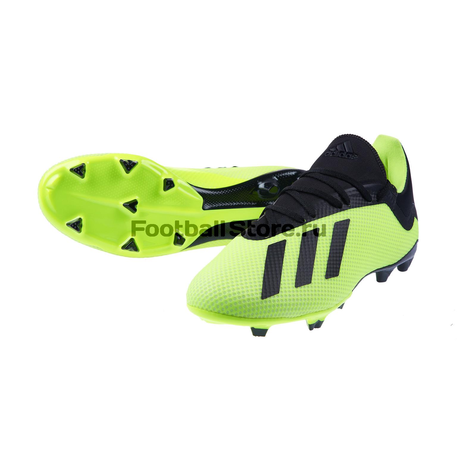 Бутсы Adidas X 18.3 FG DB2183 бутсы nike mercurial victory iii fg 509128 800