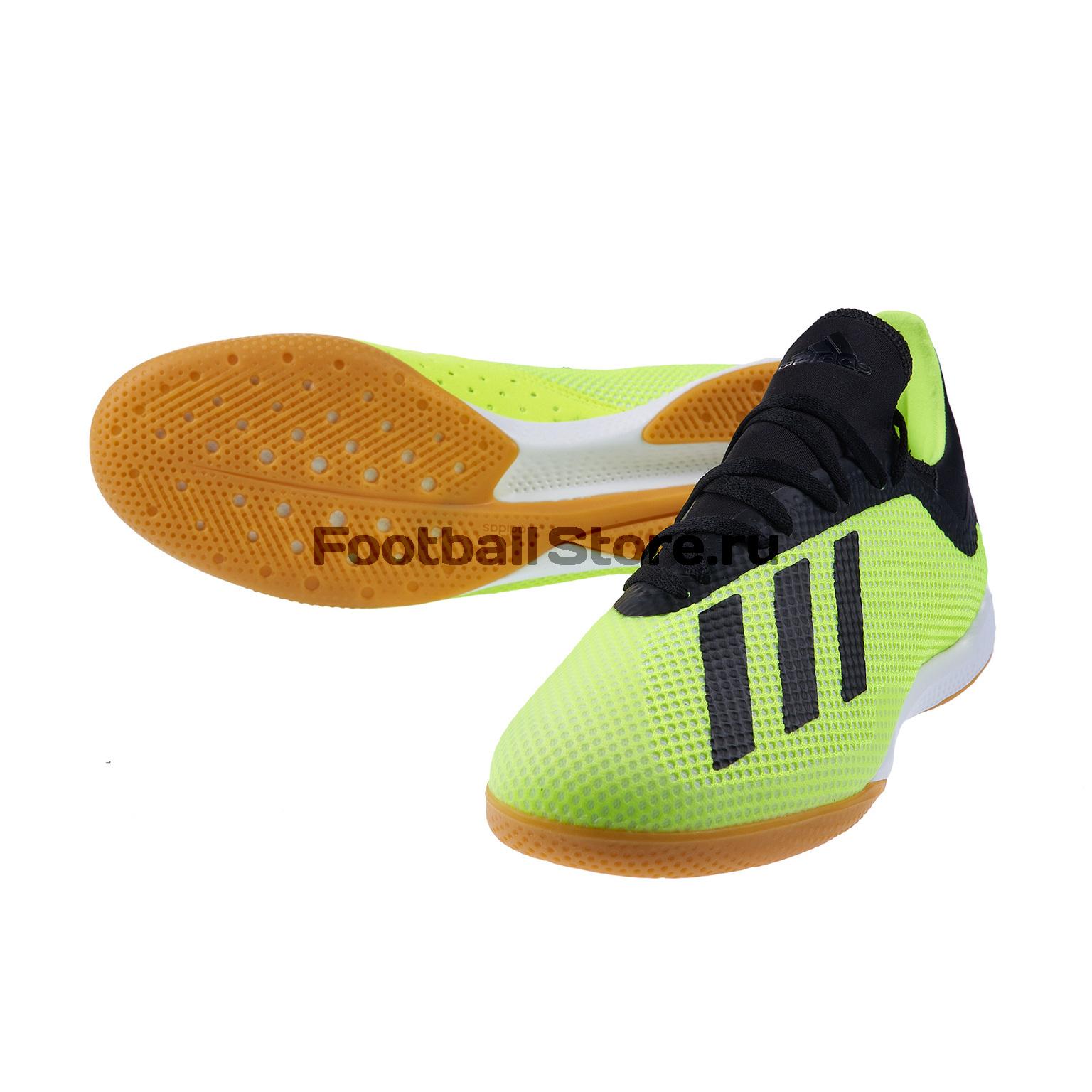 Обувь для зала Adidas X Tango 18.3 IN DB2441 обувь для зала adidas ace tango 18 3 in jr cp9075