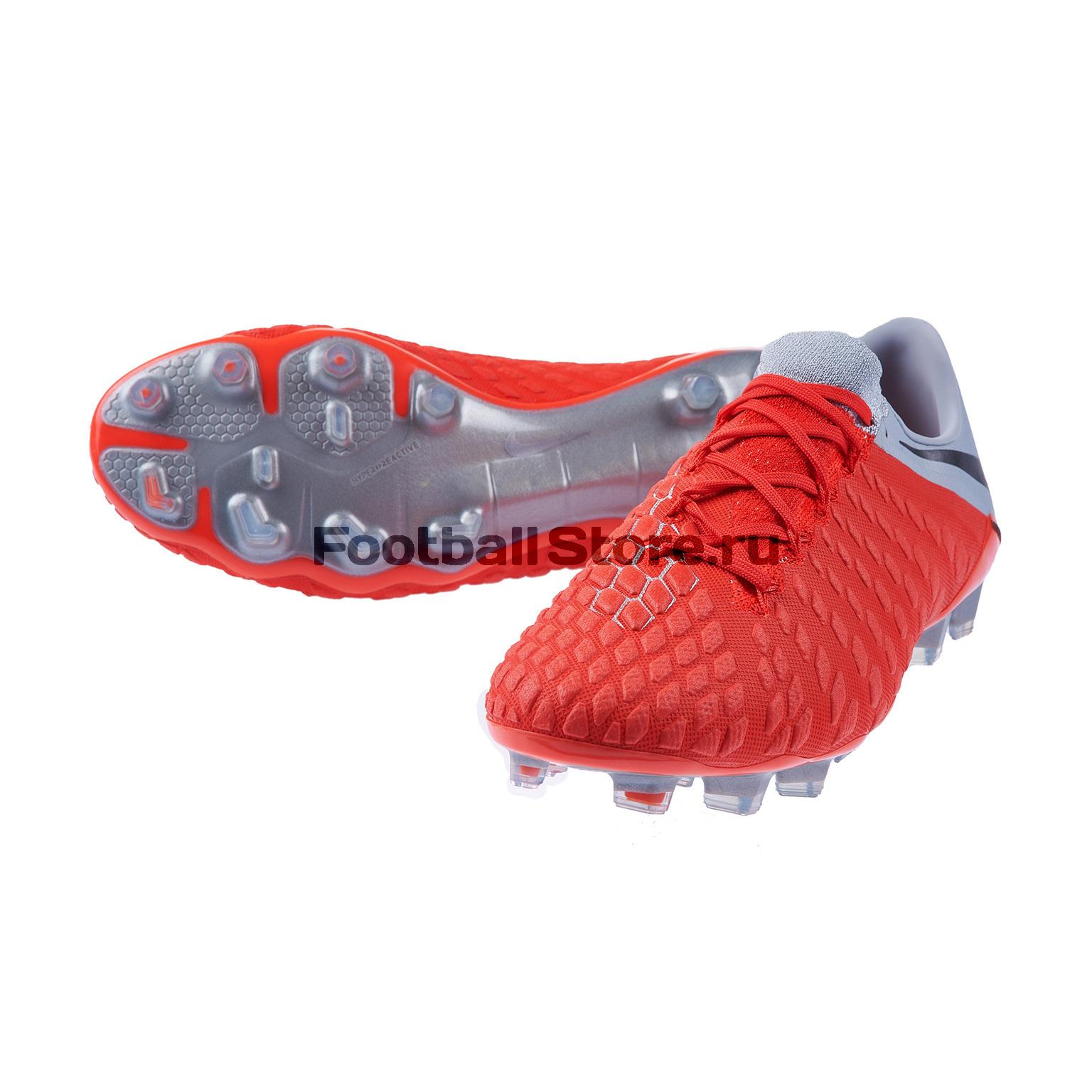 Бутсы Nike Hypervenom 3 Elite FG AJ3805-600