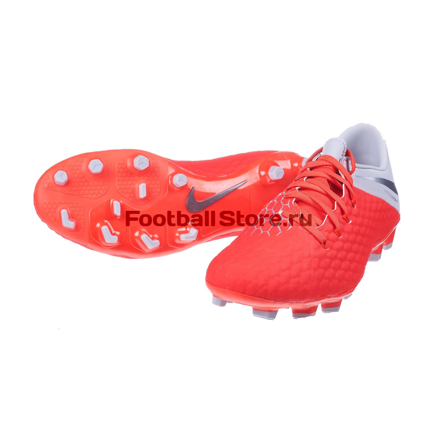 Бутсы Nike Hypervenom 3 Academy FG AJ4120-600 les ames mortes