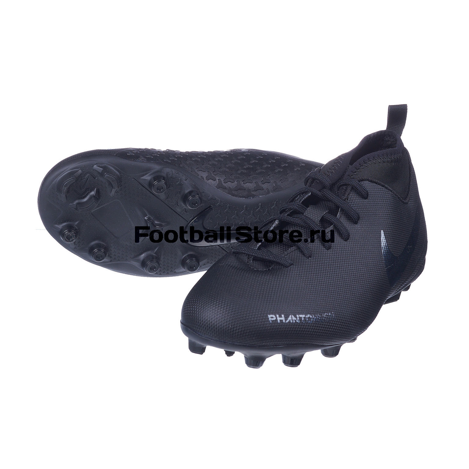Бутсы детские Nike Phantom Vision Club FG/MG AO3288-001 бутсы детские nike phantom vision academy df fg mg ao3287 600