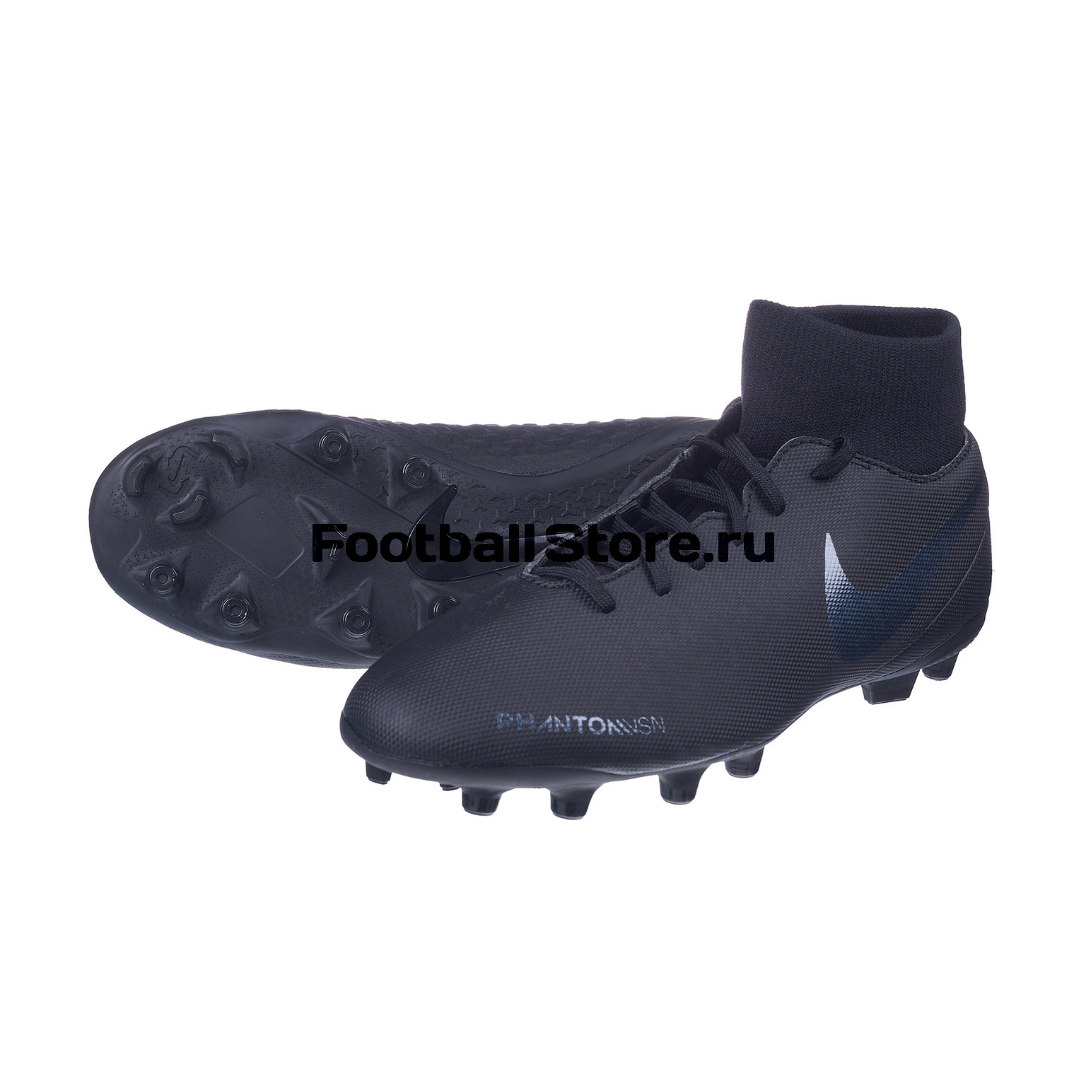 Бутсы Nike Phantom Vision Club DF FG/MG AJ6959-001 бутсы детские nike phantom vision academy df fg mg ao3287 600