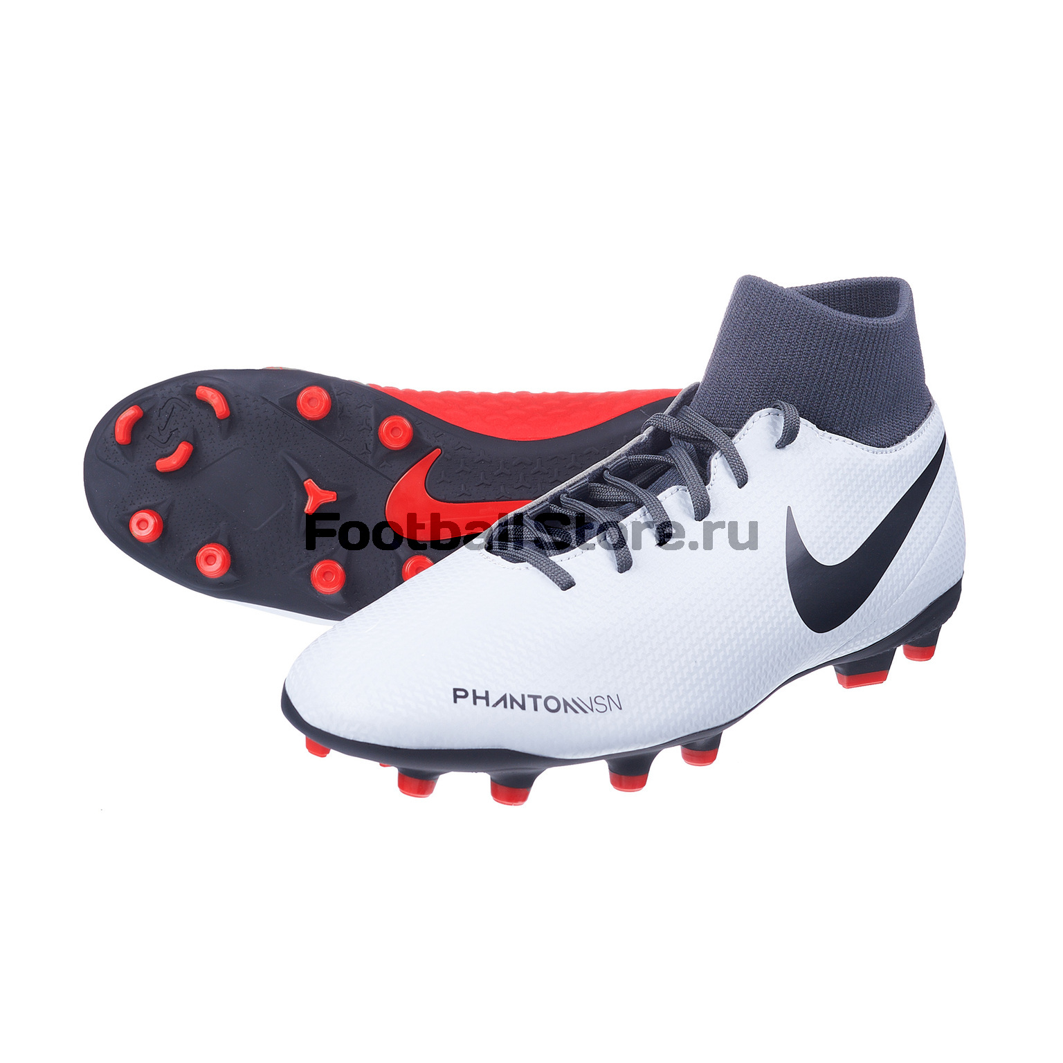 Бутсы Nike Phantom Vision Club DF FG/MG AJ6959-060 бутсы детские nike phantom vision academy df fg mg ao3287 600